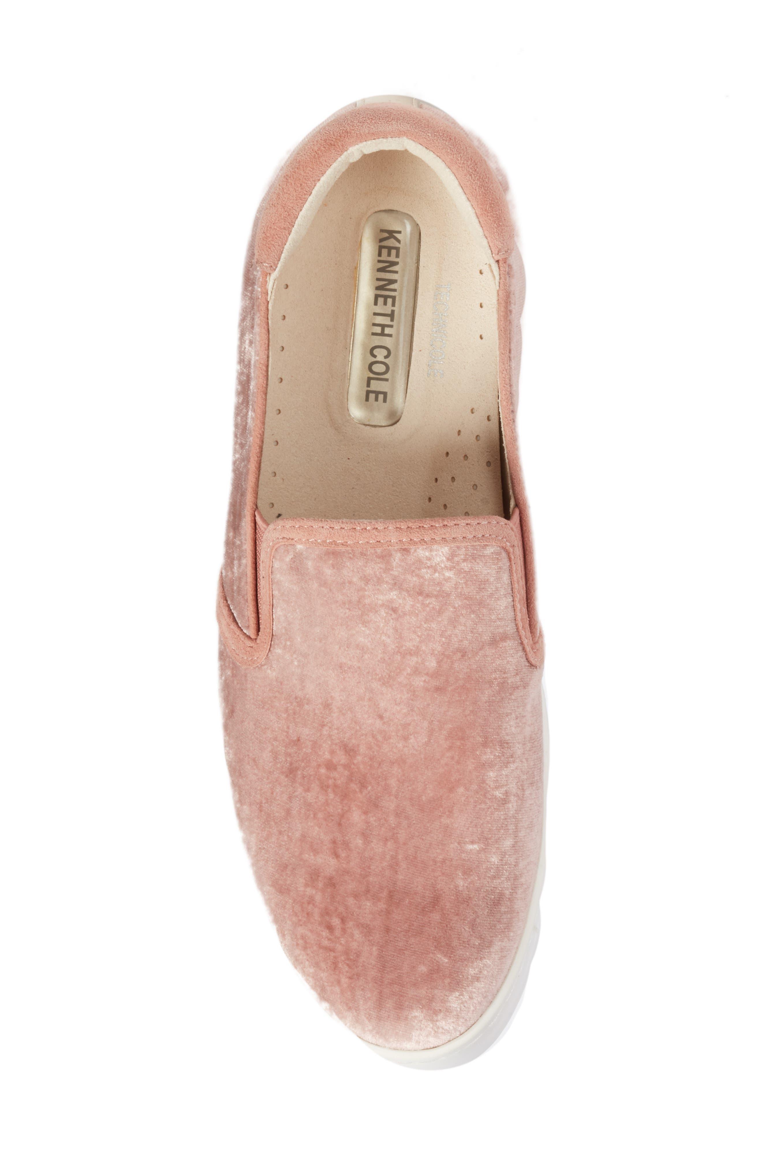 Joanie Slip-On Platform Sneaker,                             Alternate thumbnail 55, color,