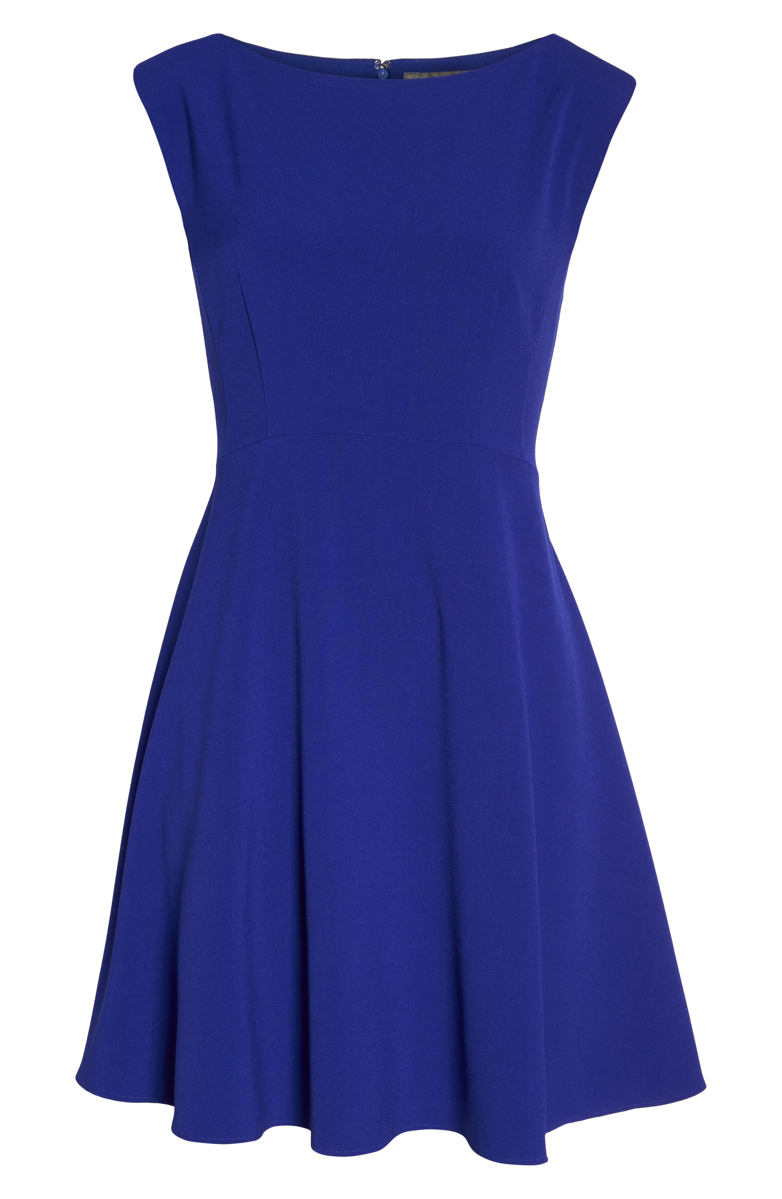 Whisper Ruth Fit & Flare Dress,                             Alternate thumbnail 7, color,                             405