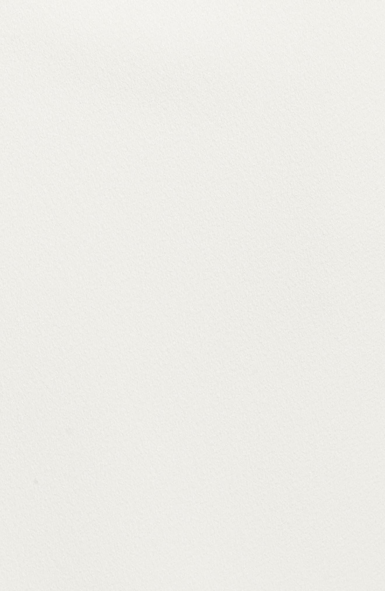 One-Shoulder Crepe Gown,                             Alternate thumbnail 5, color,                             902