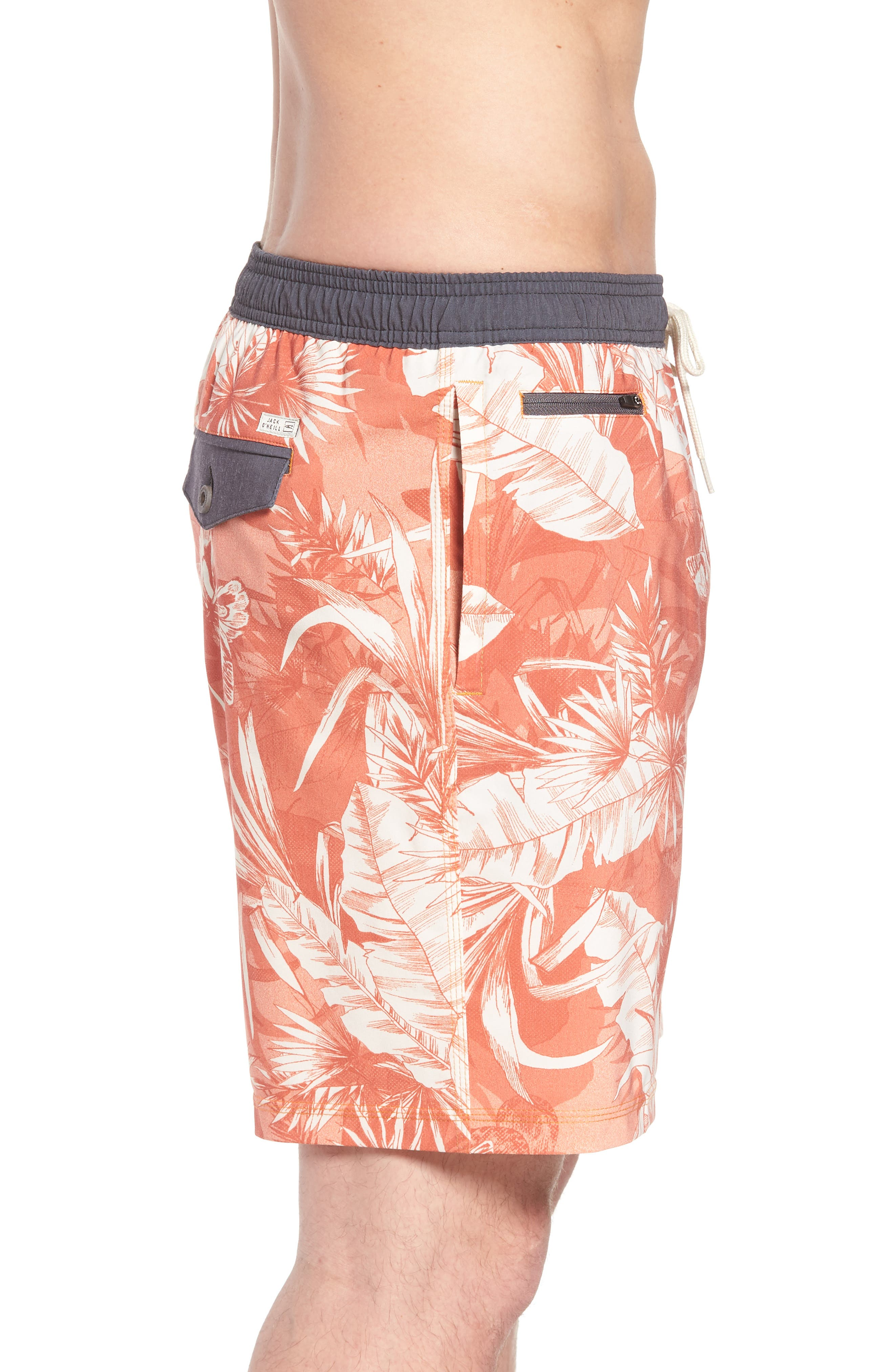Sunset Board Shorts,                             Alternate thumbnail 3, color,                             214