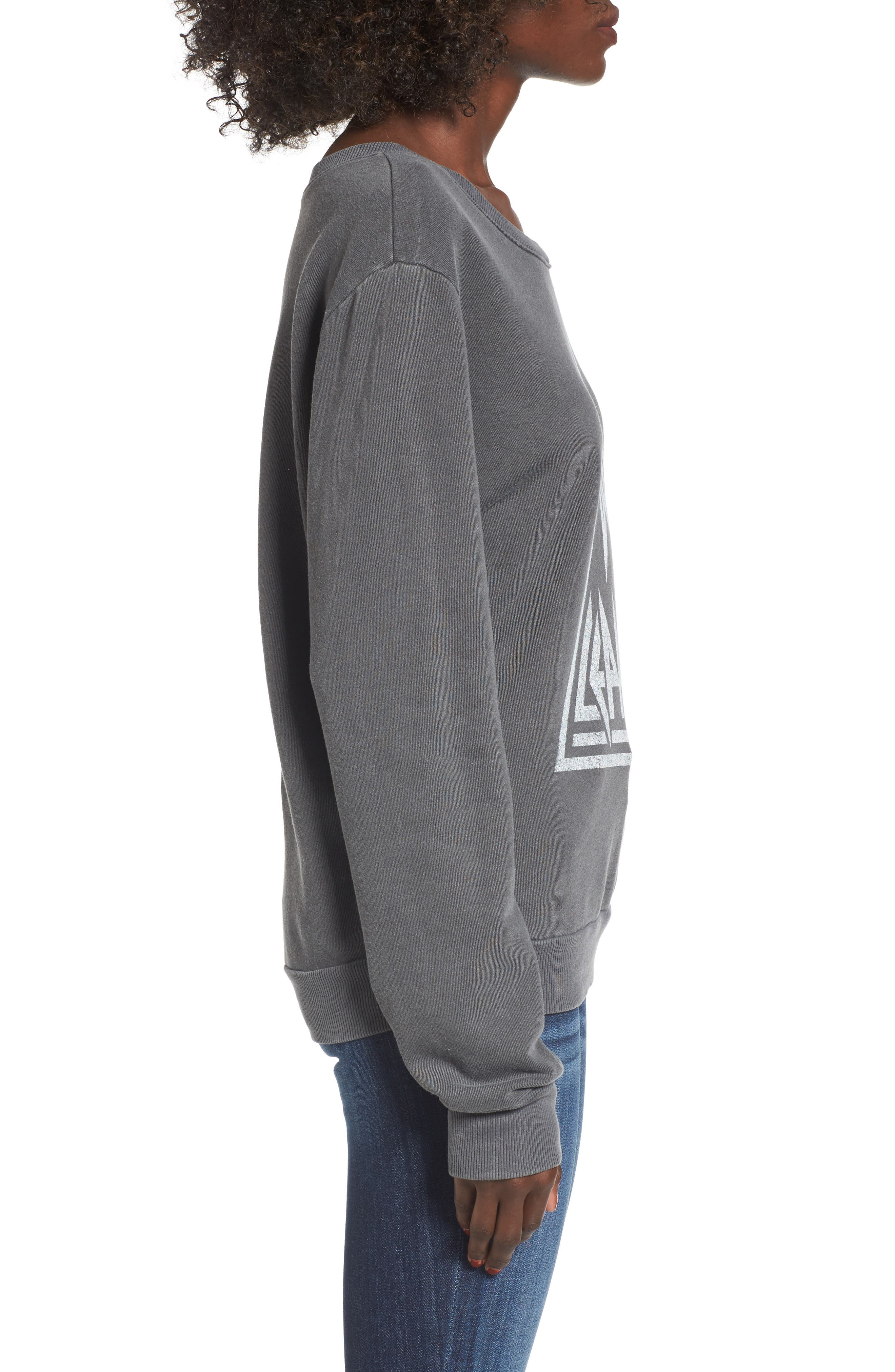 Def Leppard Sweatshirt,                             Alternate thumbnail 3, color,                             001