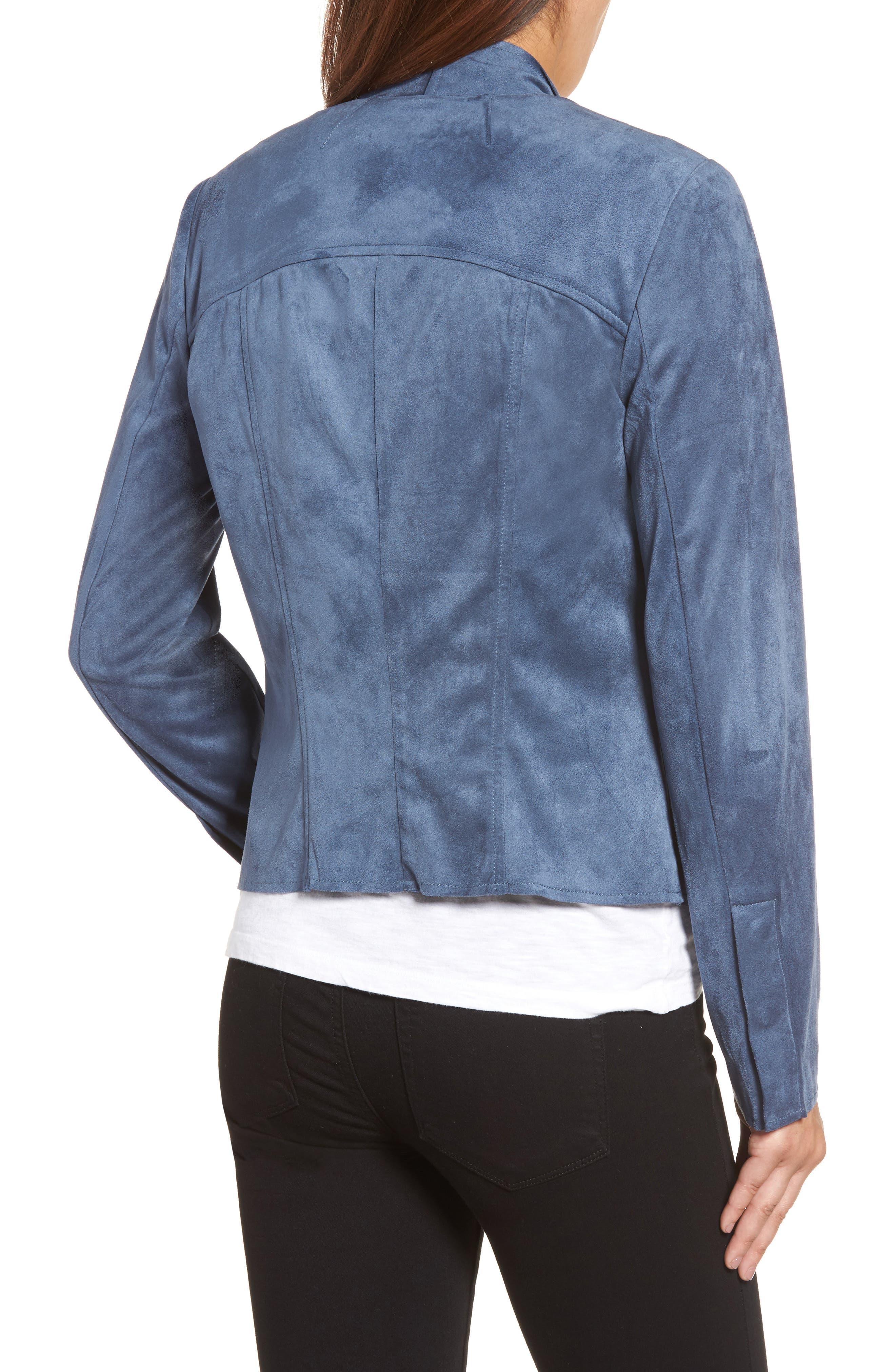 Tayanita Faux Suede Jacket,                             Alternate thumbnail 23, color,