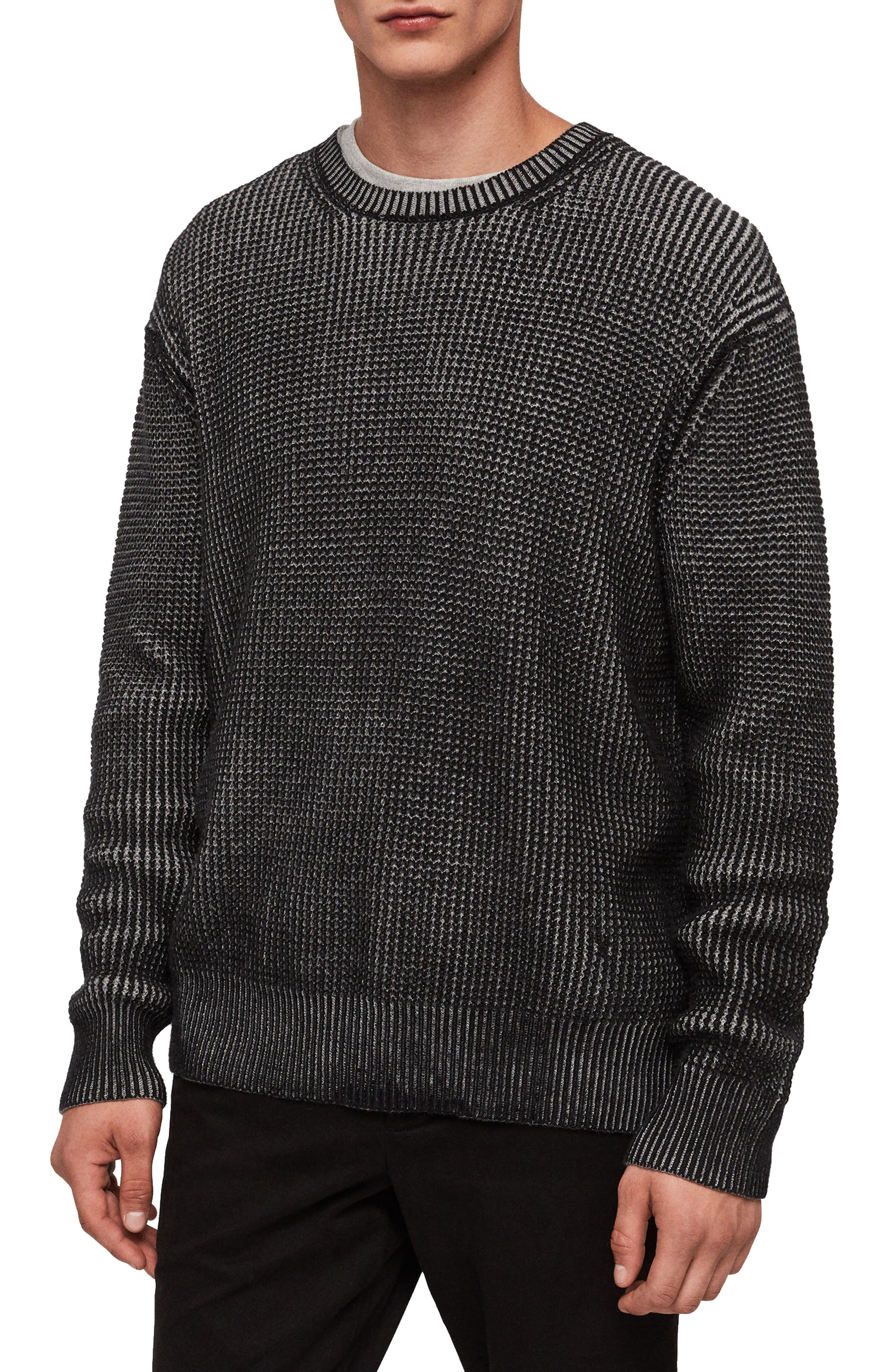 Quarter Crewneck Sweater,                             Main thumbnail 1, color,                             020