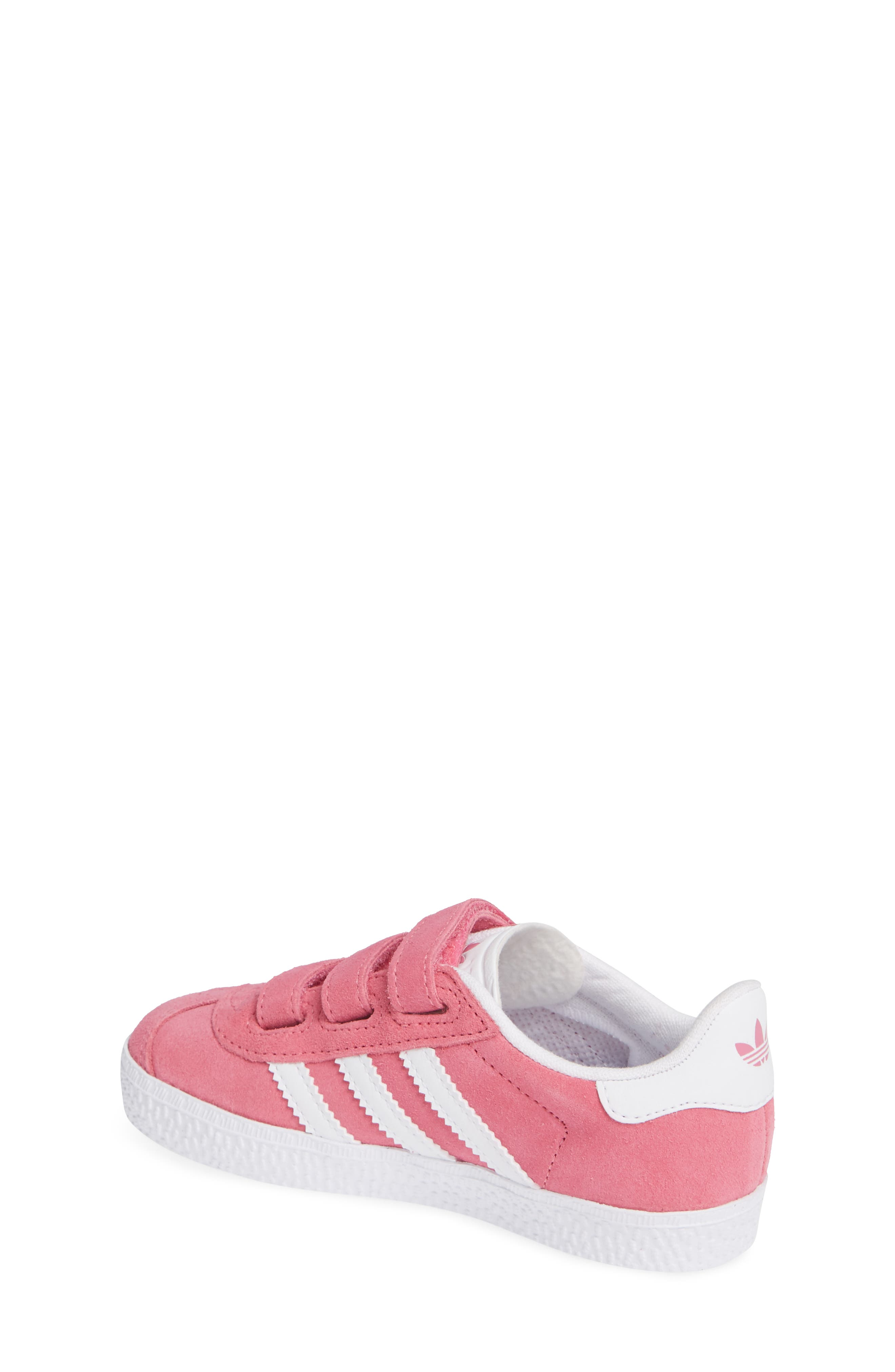 Gazelle Sneaker,                             Alternate thumbnail 2, color,                             SEMI SOLAR PINK/ WHITE