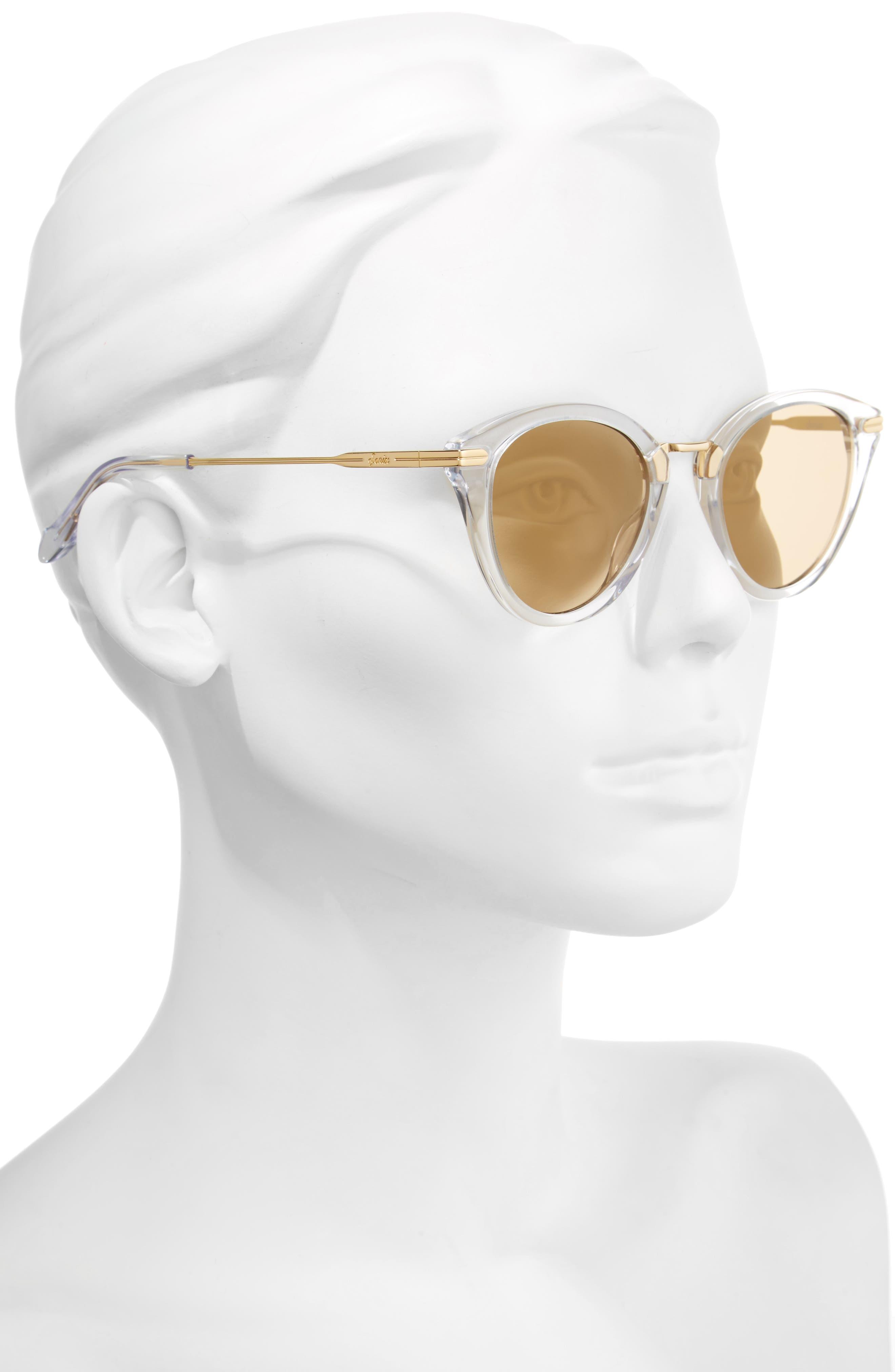 Quinn 48mm Cat Eye Sunglasses,                             Alternate thumbnail 6, color,
