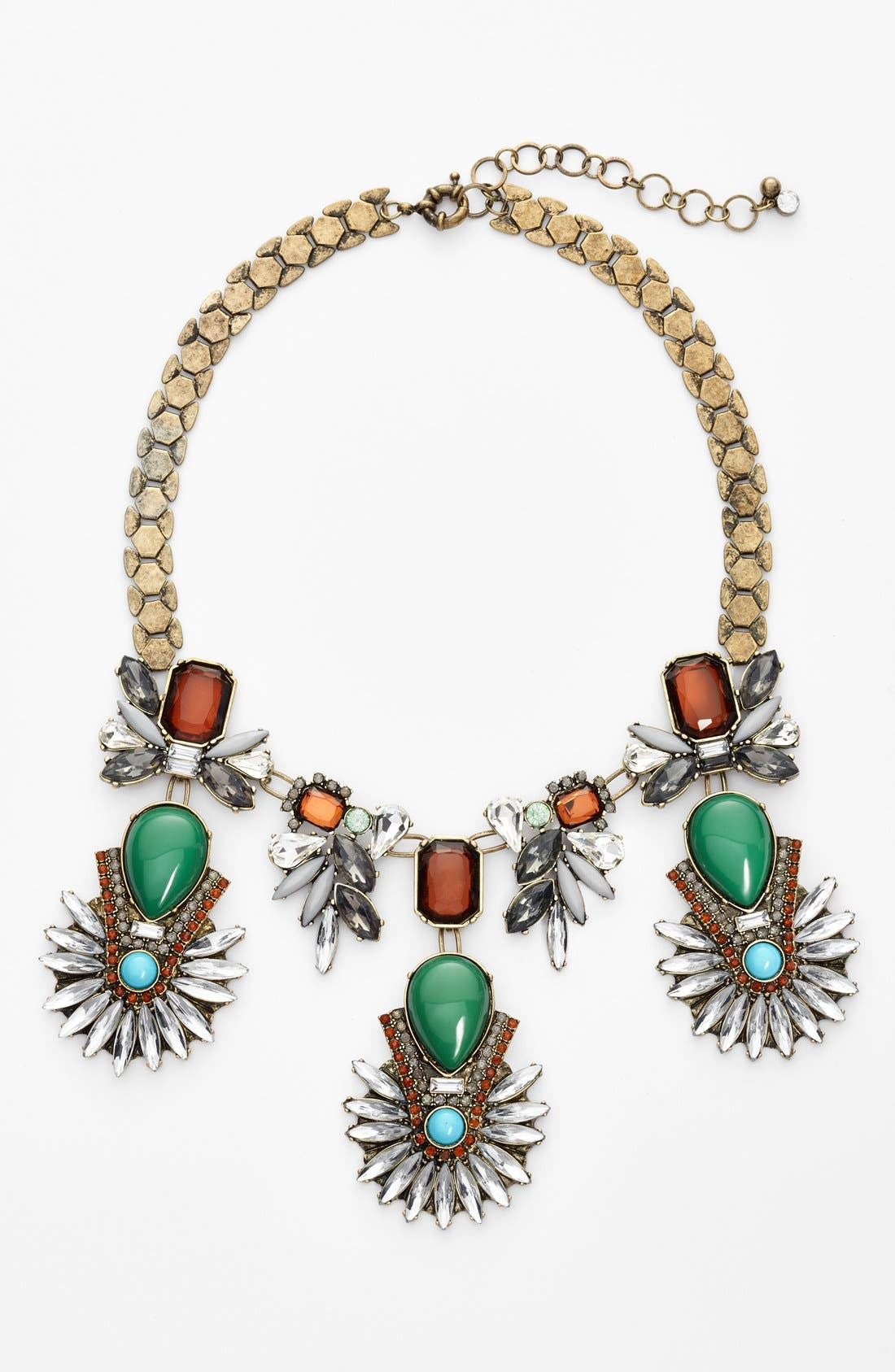 Multi Stone Necklace,                             Main thumbnail 1, color,                             313