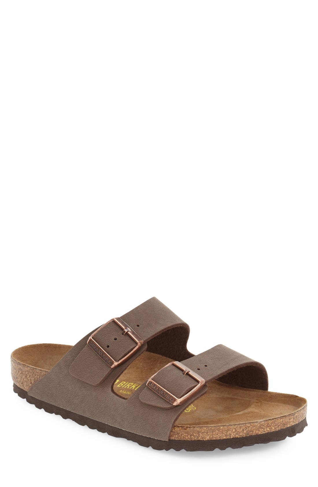 'Arizona' Slide Sandal,                             Main thumbnail 1, color,                             MOCHA