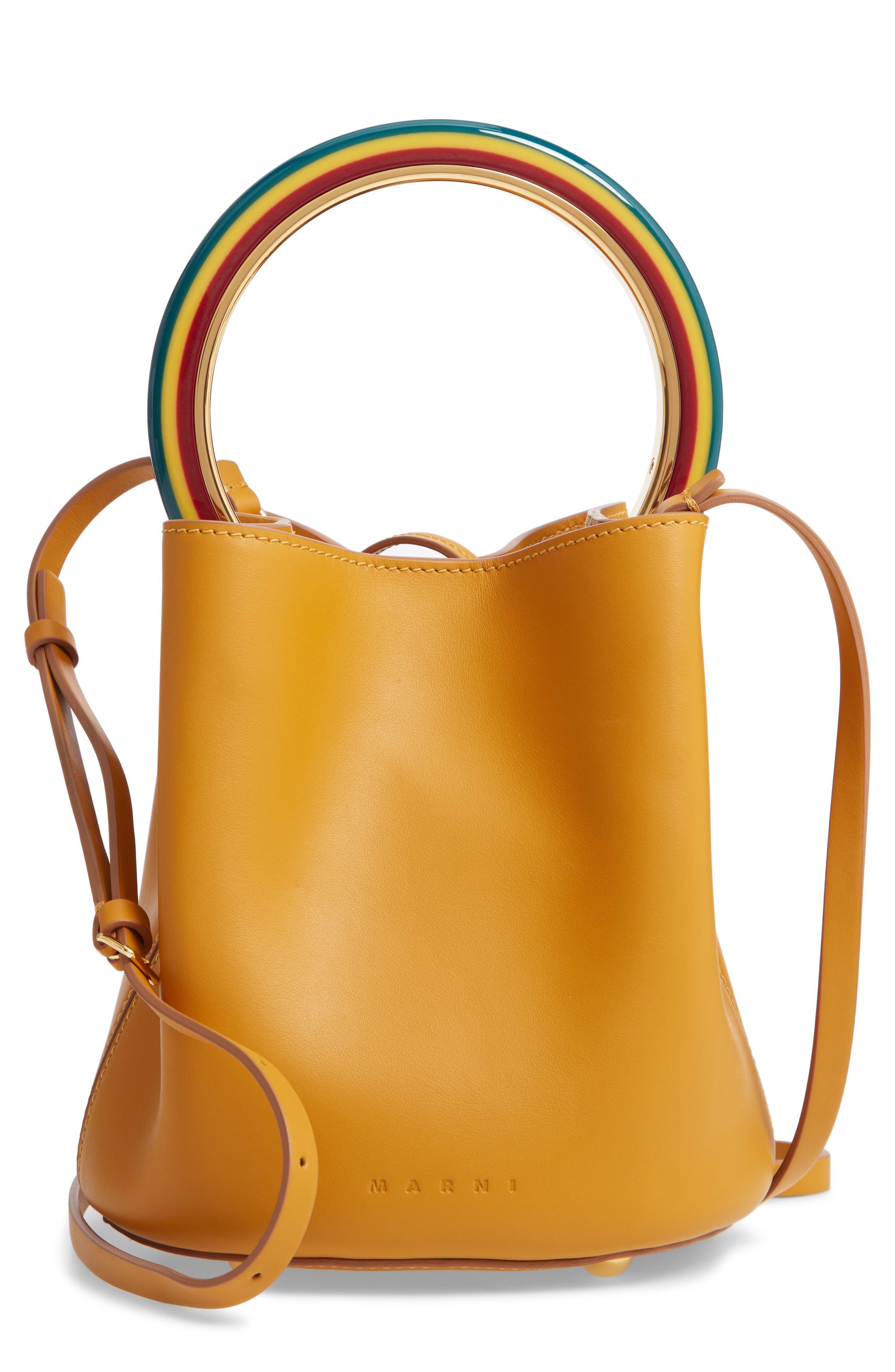 Rainbow Ring Handle, Main, color, HONEY