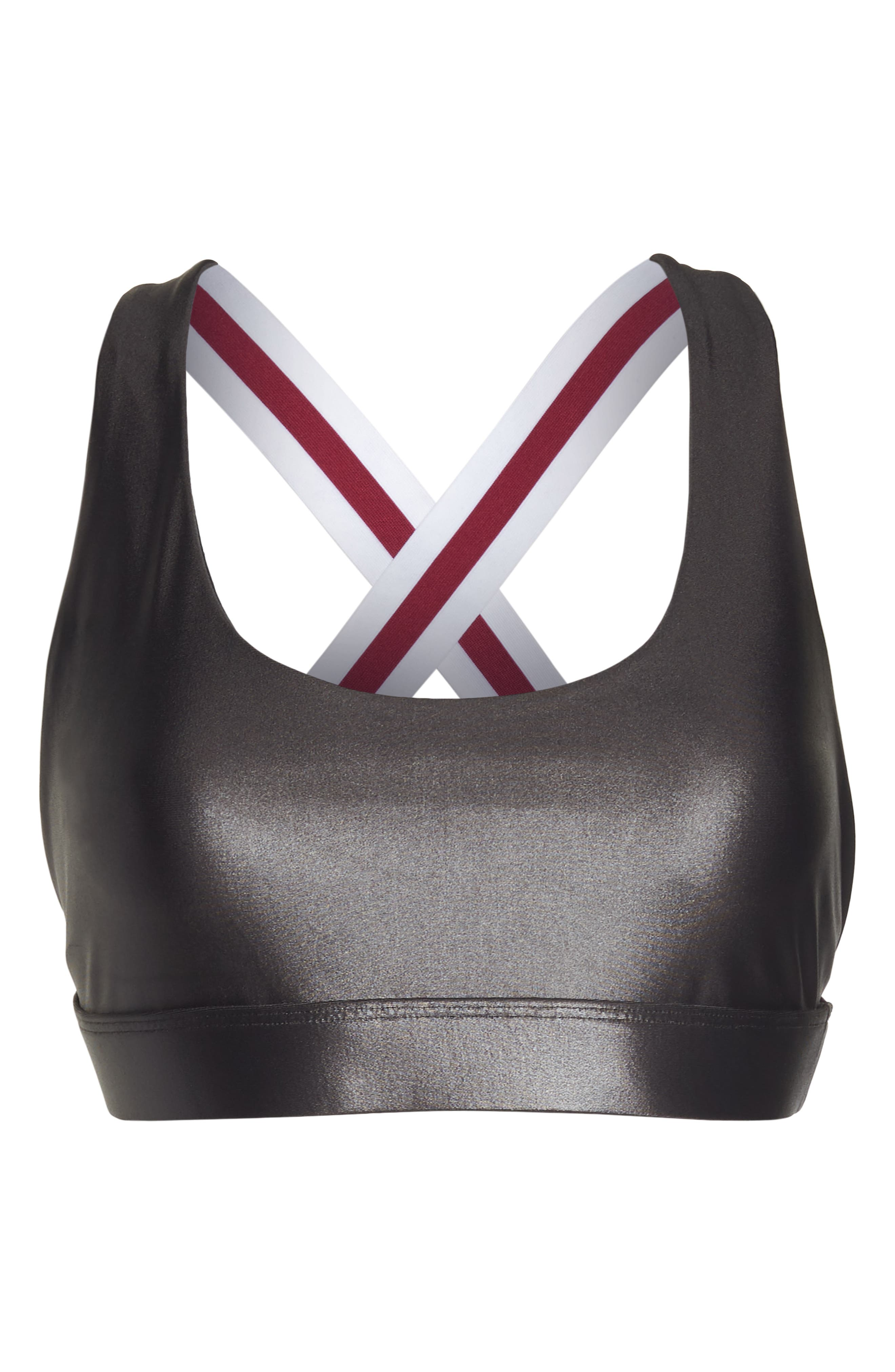 Fame Sports Bra,                             Alternate thumbnail 7, color,                             LEAD