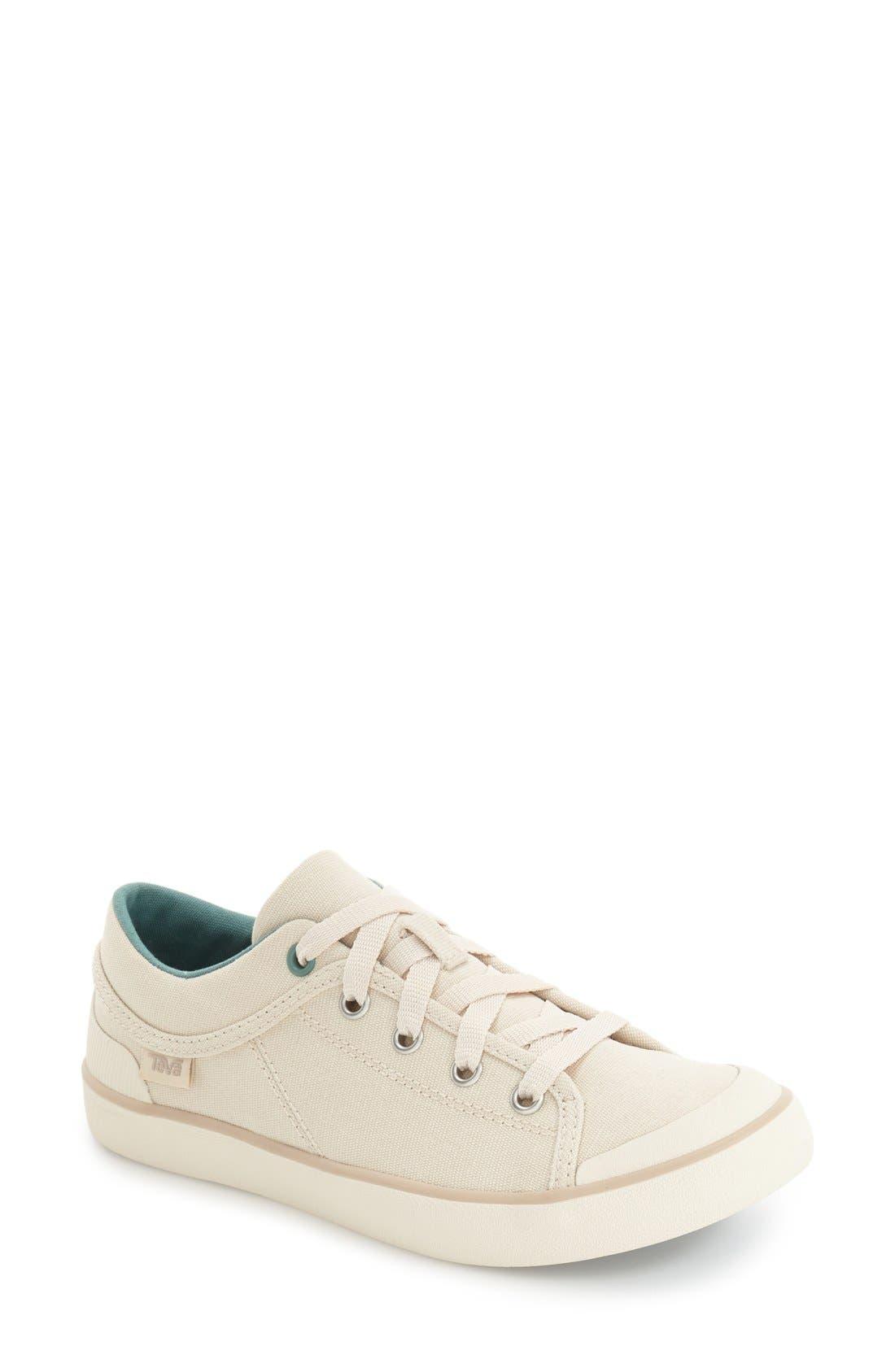 'Freewheel' Sneaker,                             Main thumbnail 1, color,                             NATURAL CANVAS