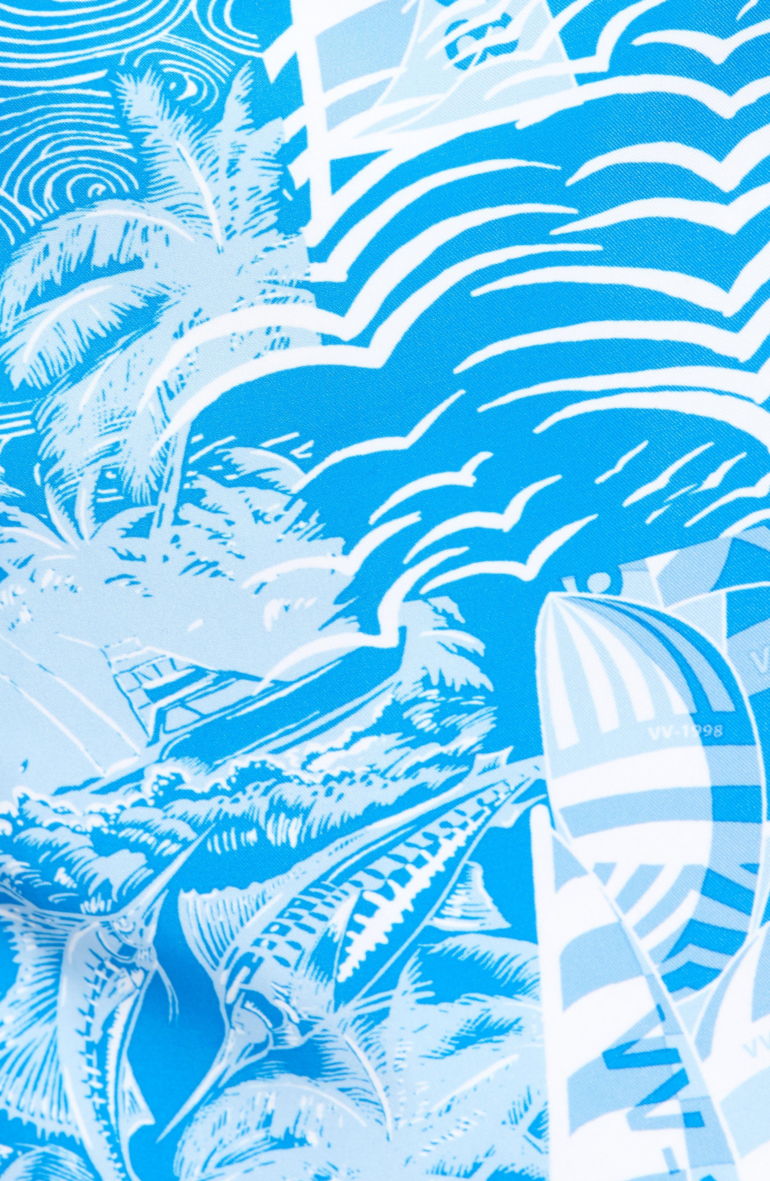 Chappy At Sea Swim Trunks,                             Alternate thumbnail 5, color,