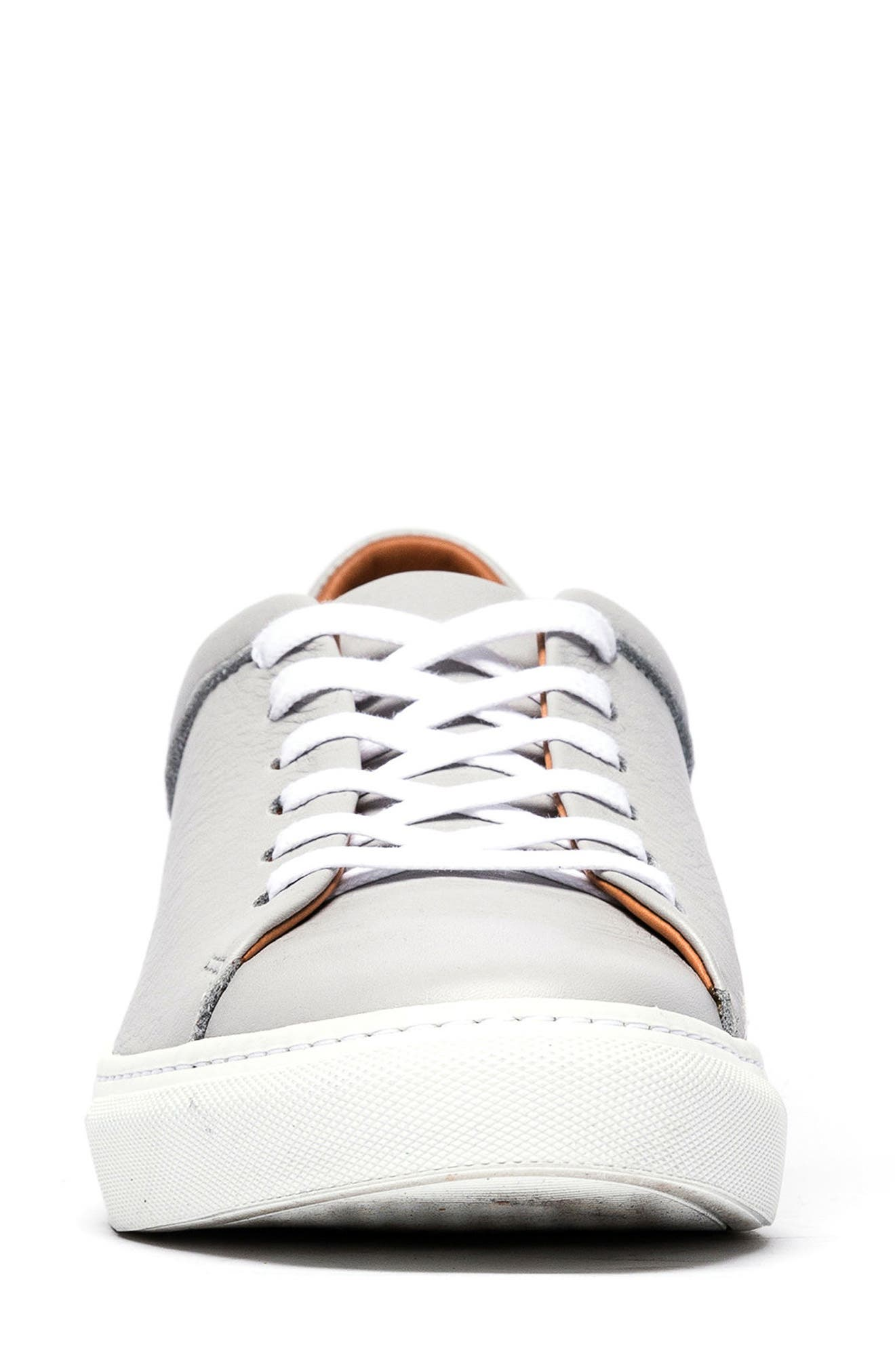 Windemere Sneaker,                             Alternate thumbnail 4, color,                             STONE LEATHER