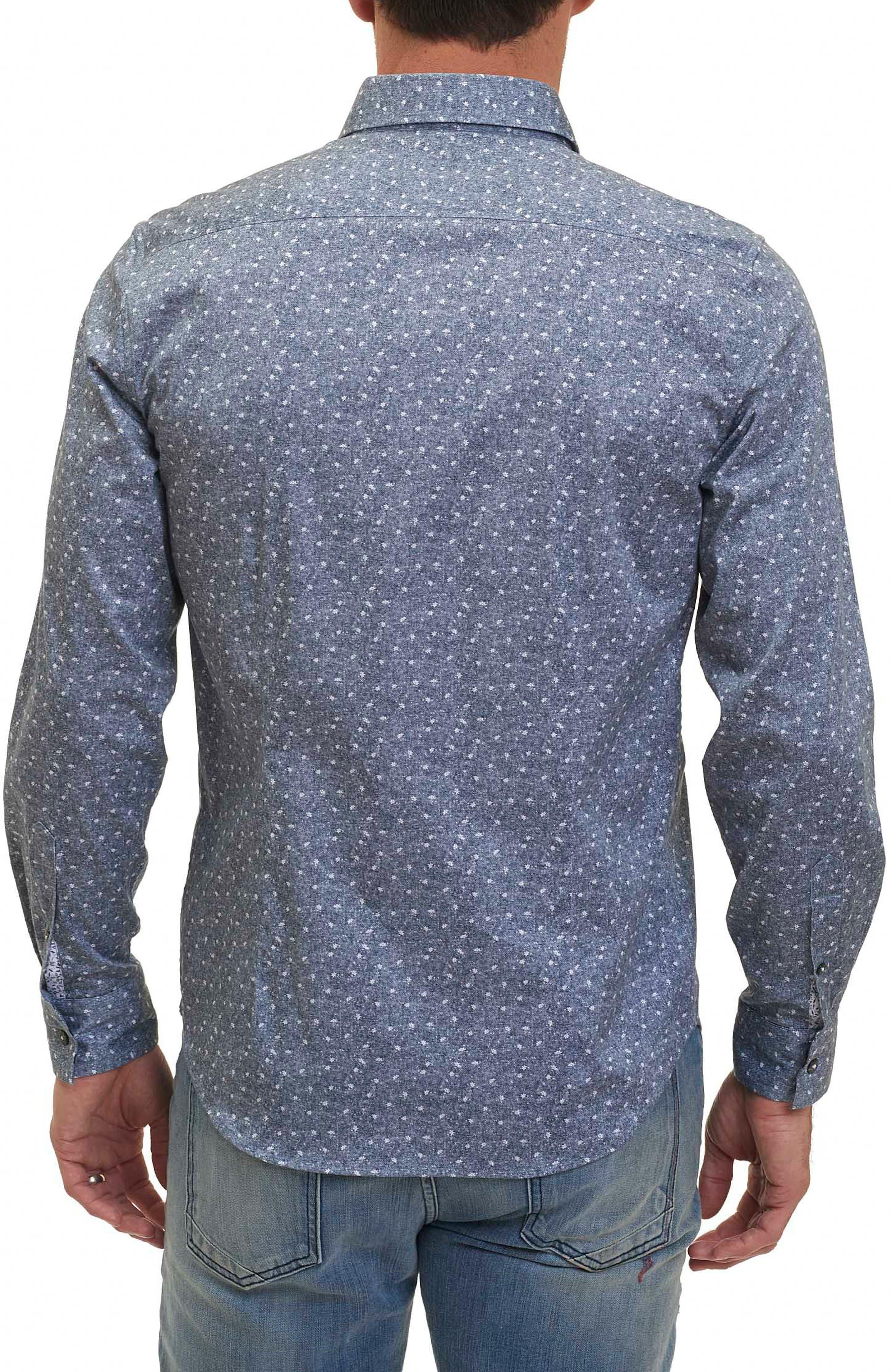 Zander Tailored Fit Sport Shirt,                             Alternate thumbnail 2, color,                             020