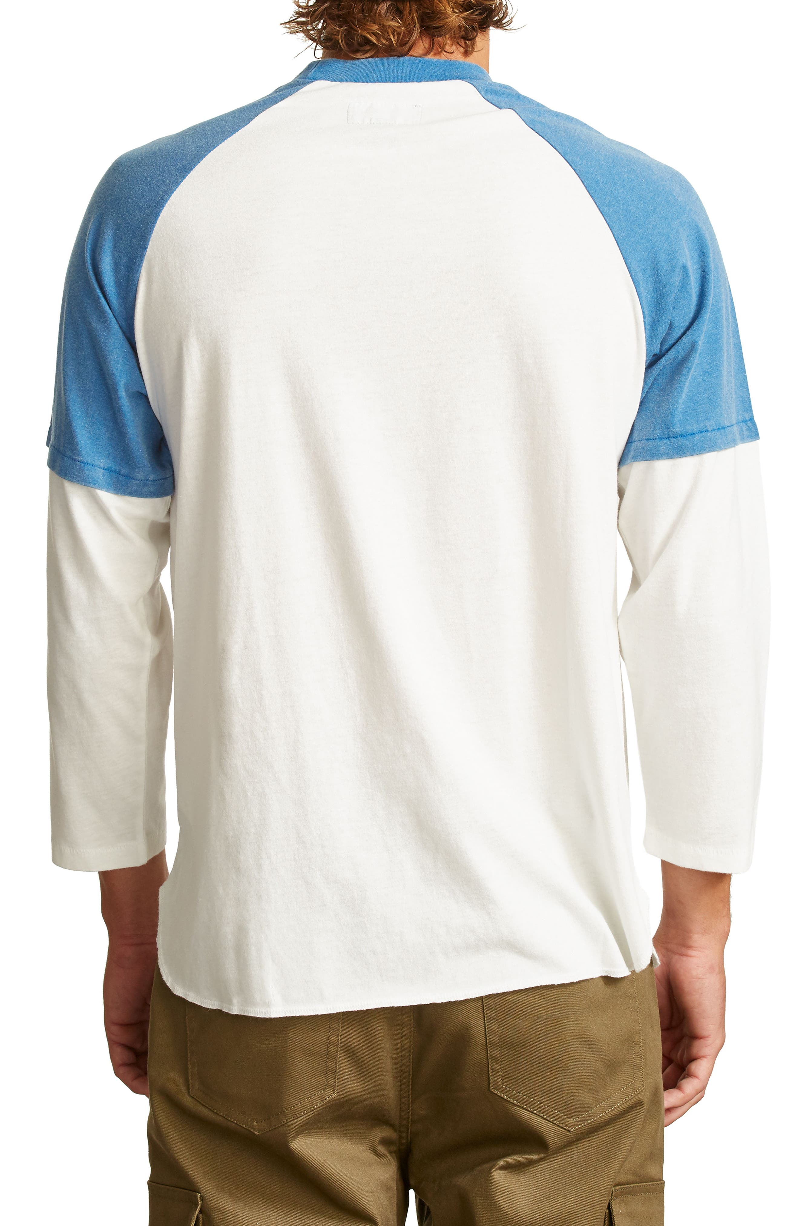 Layer Look Baseball T-Shirt,                             Alternate thumbnail 2, color,                             101