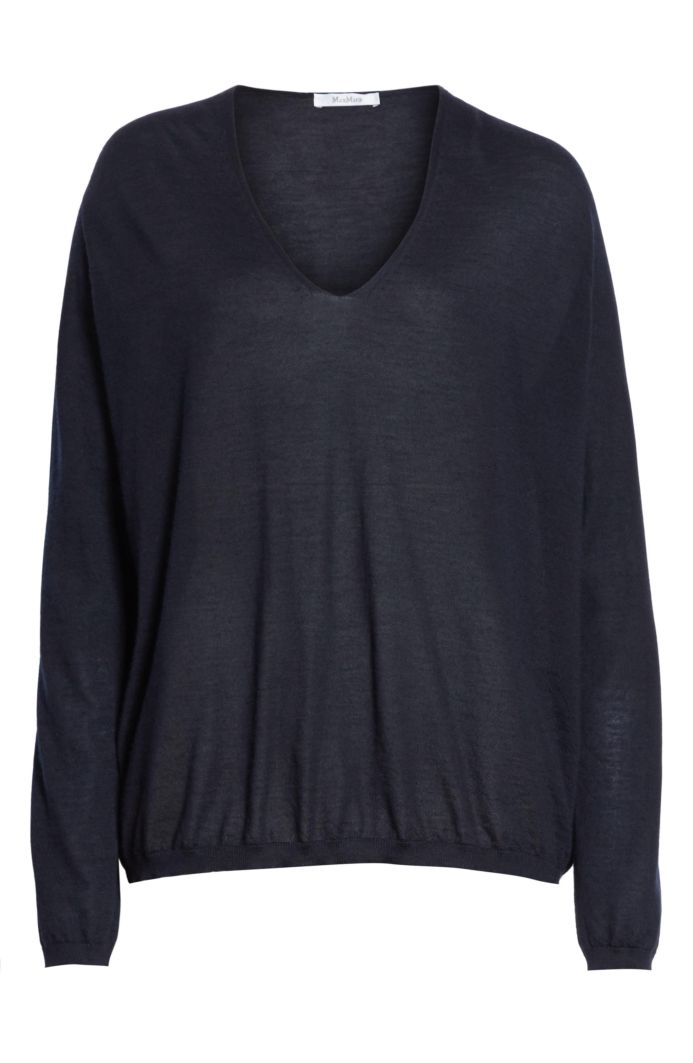 Vela Cashmere Sweater,                             Alternate thumbnail 6, color,                             411