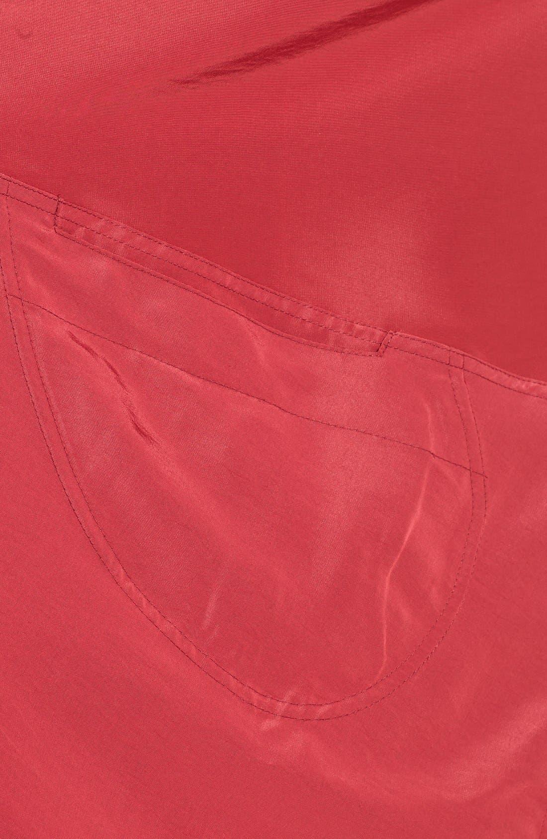 'Mini Donatella' Reversible Pleat Hood Packable Travel Coat,                             Alternate thumbnail 27, color,