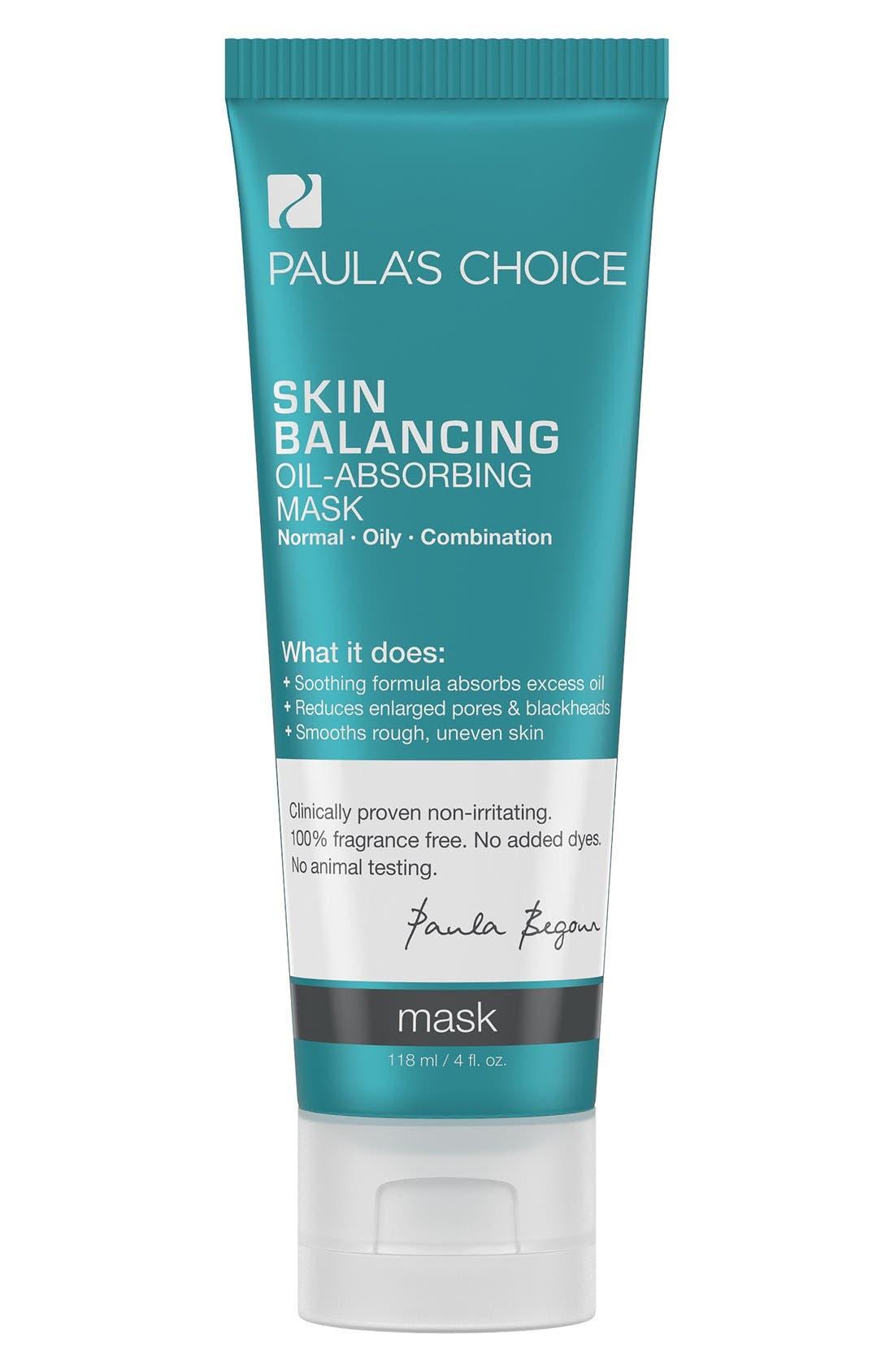 Skin Balancing Oil-Absorbing Mask,                         Main,                         color, 000
