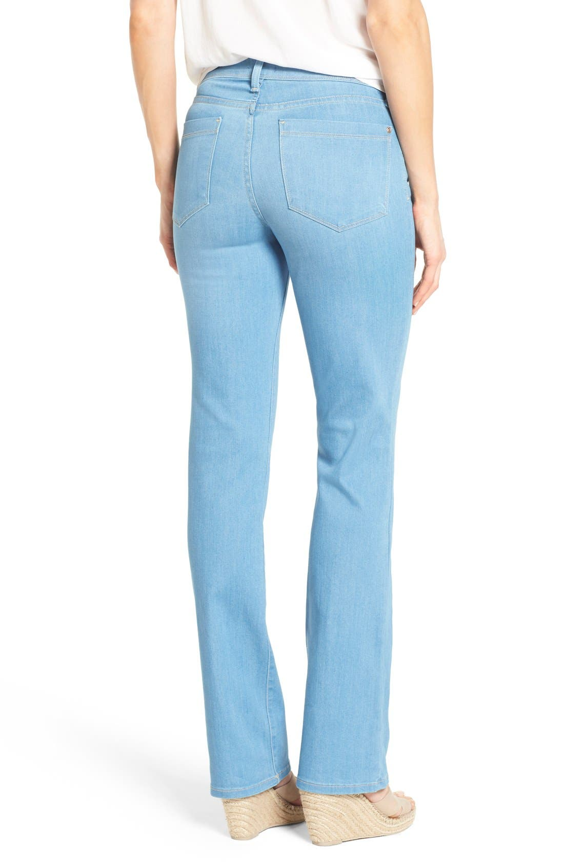 'Barbara' Stretch Bootcut Jeans,                             Alternate thumbnail 2, color,