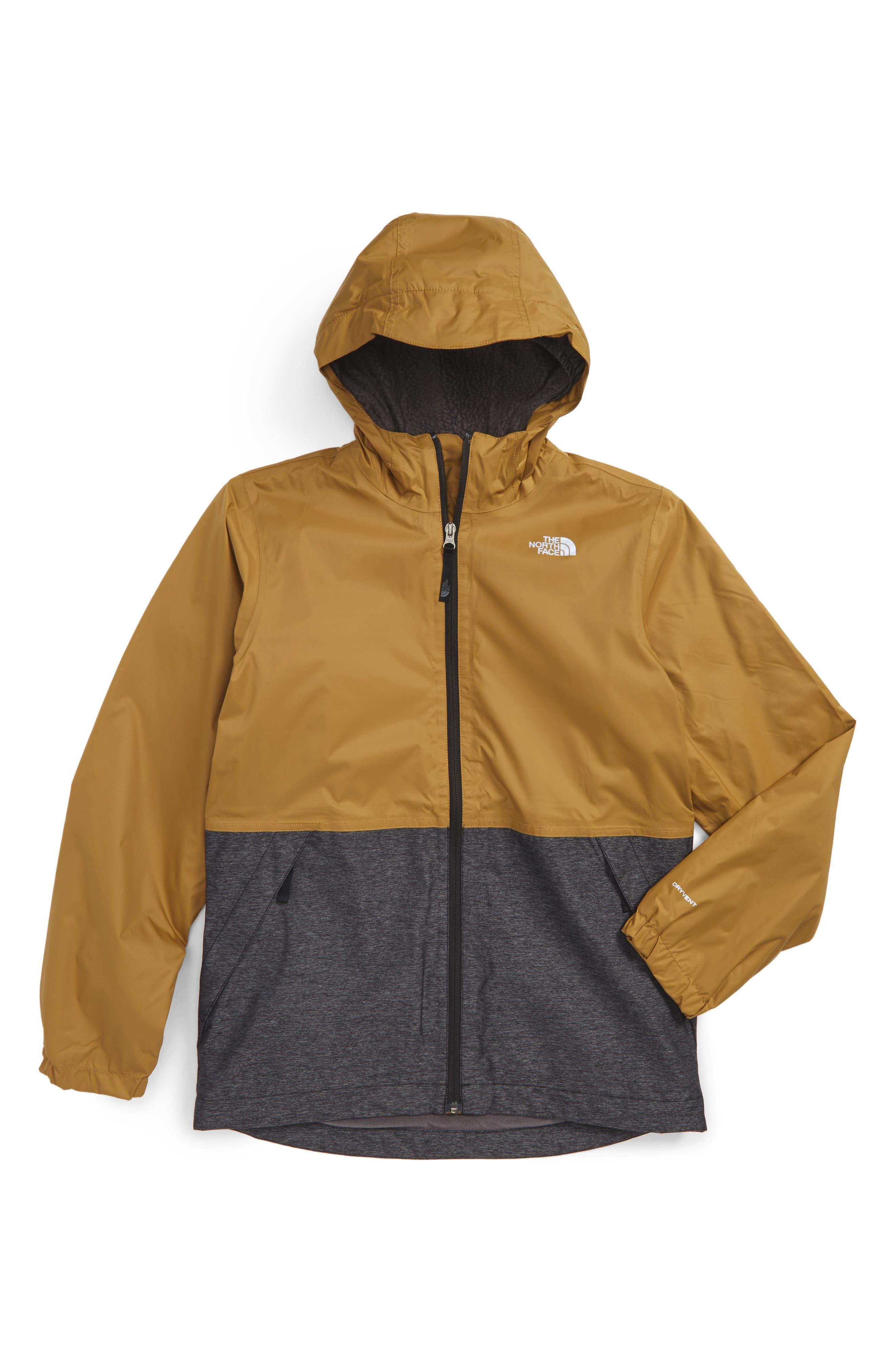 Warm Storm Hooded Waterproof Jacket,                             Main thumbnail 3, color,