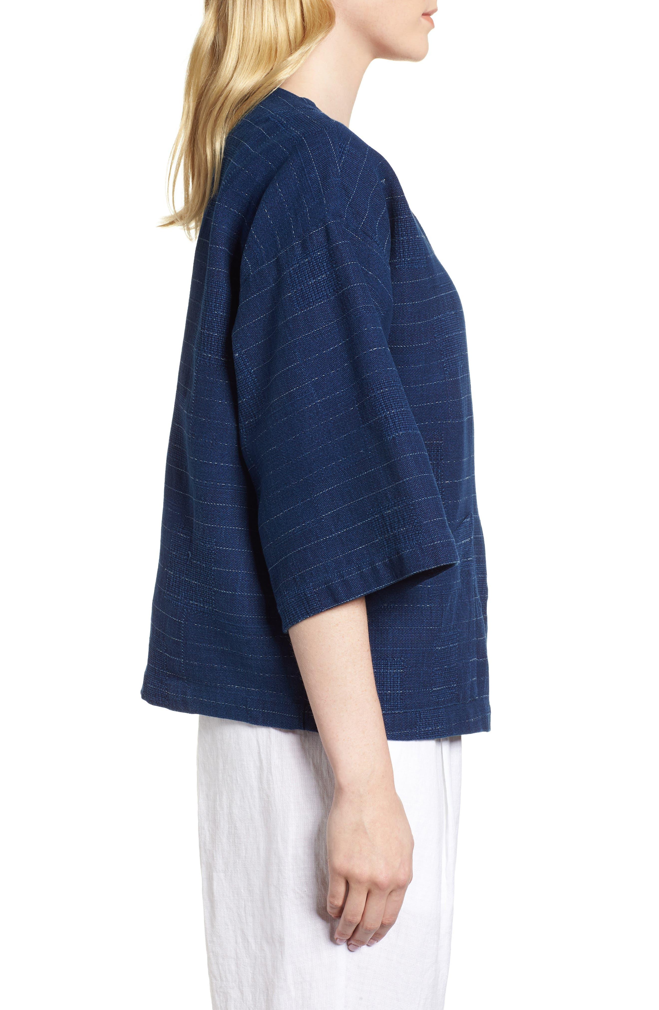 Belted Kimono Jacket,                             Alternate thumbnail 3, color,                             402
