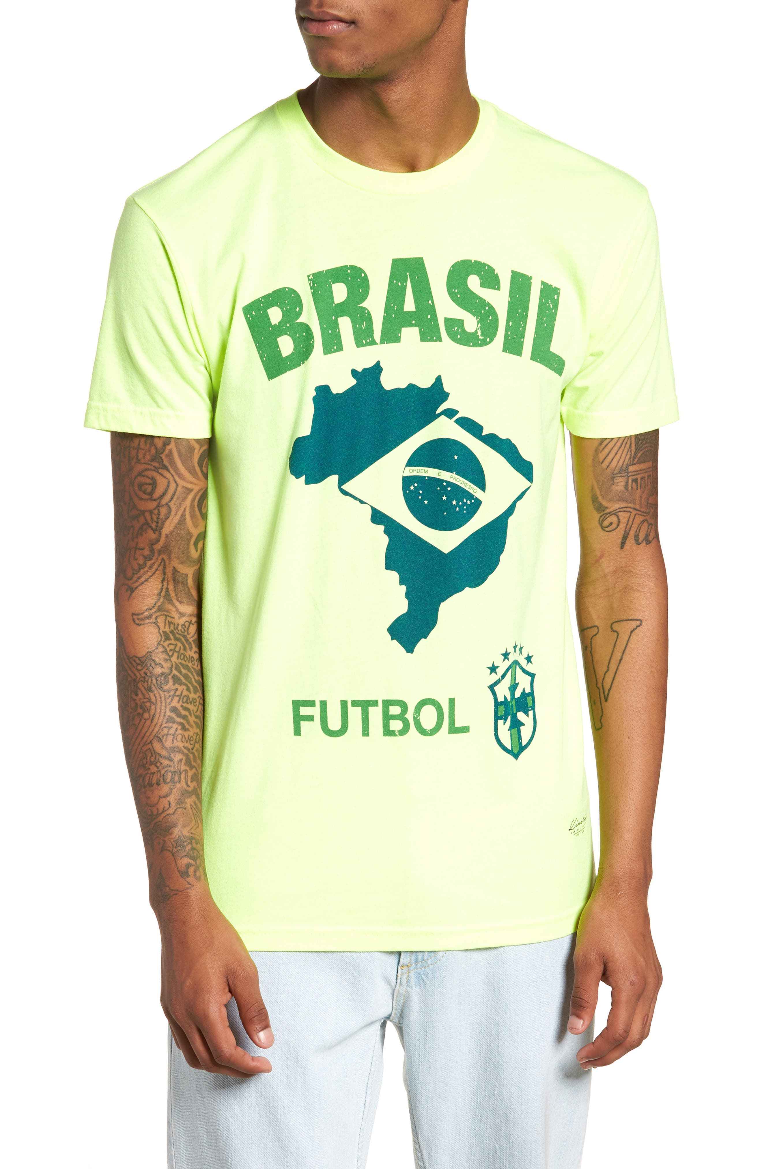 Brasil Futbol T-Shirt,                         Main,                         color, 700