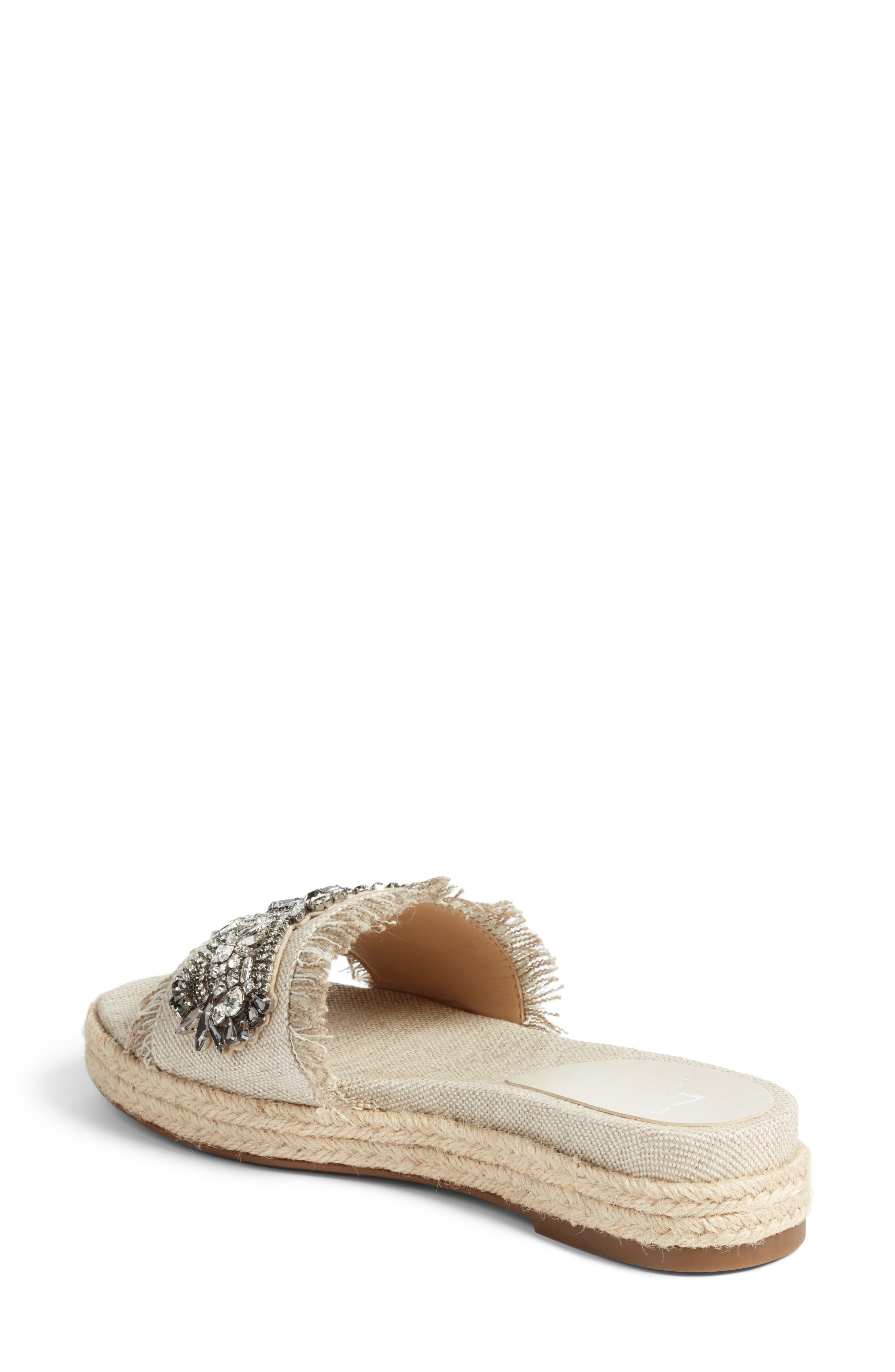 Jelly II Embellished Sandal,                             Alternate thumbnail 3, color,