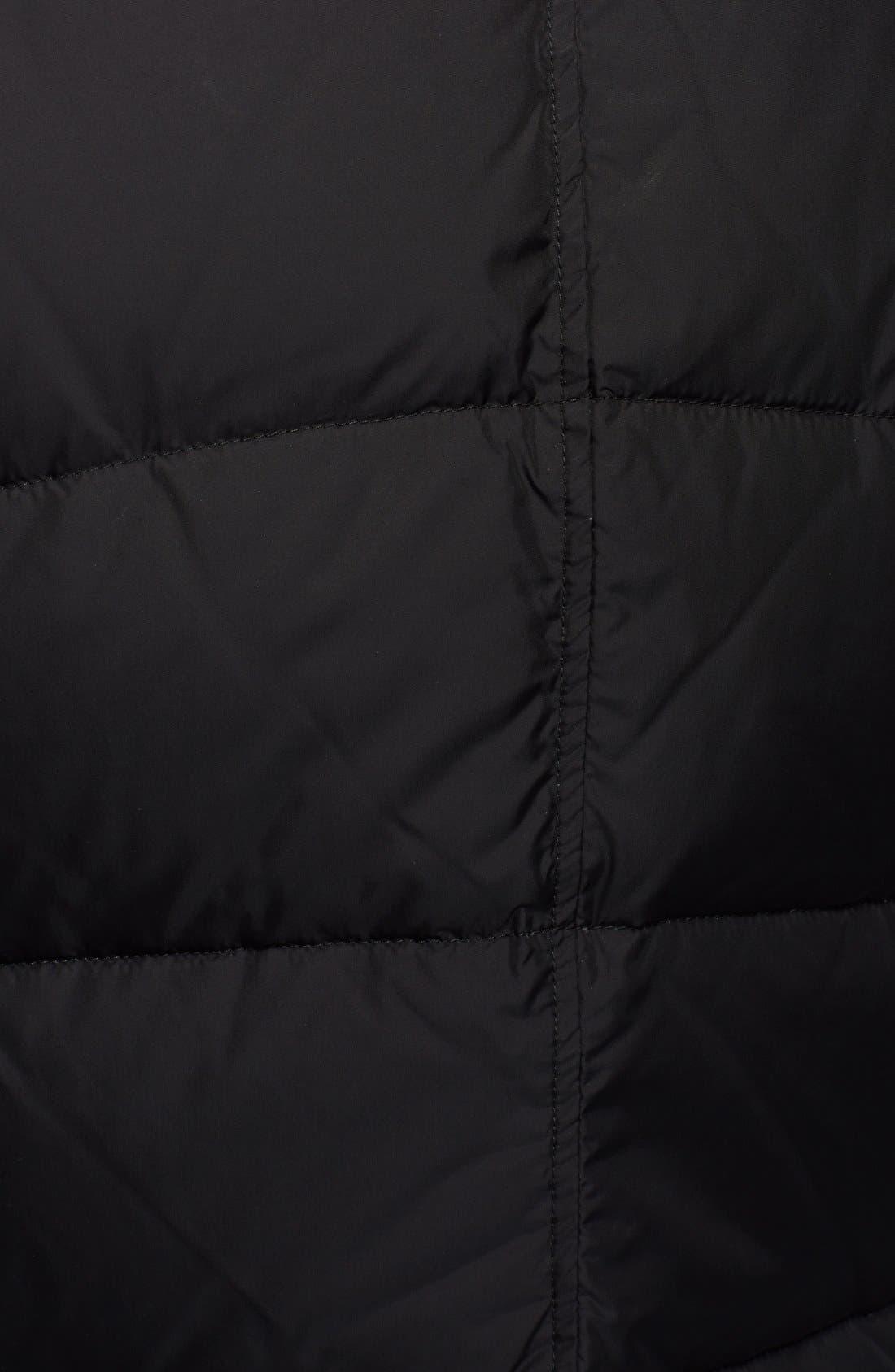 'Amazzone' Matte Down Field Jacket,                             Alternate thumbnail 2, color,                             001