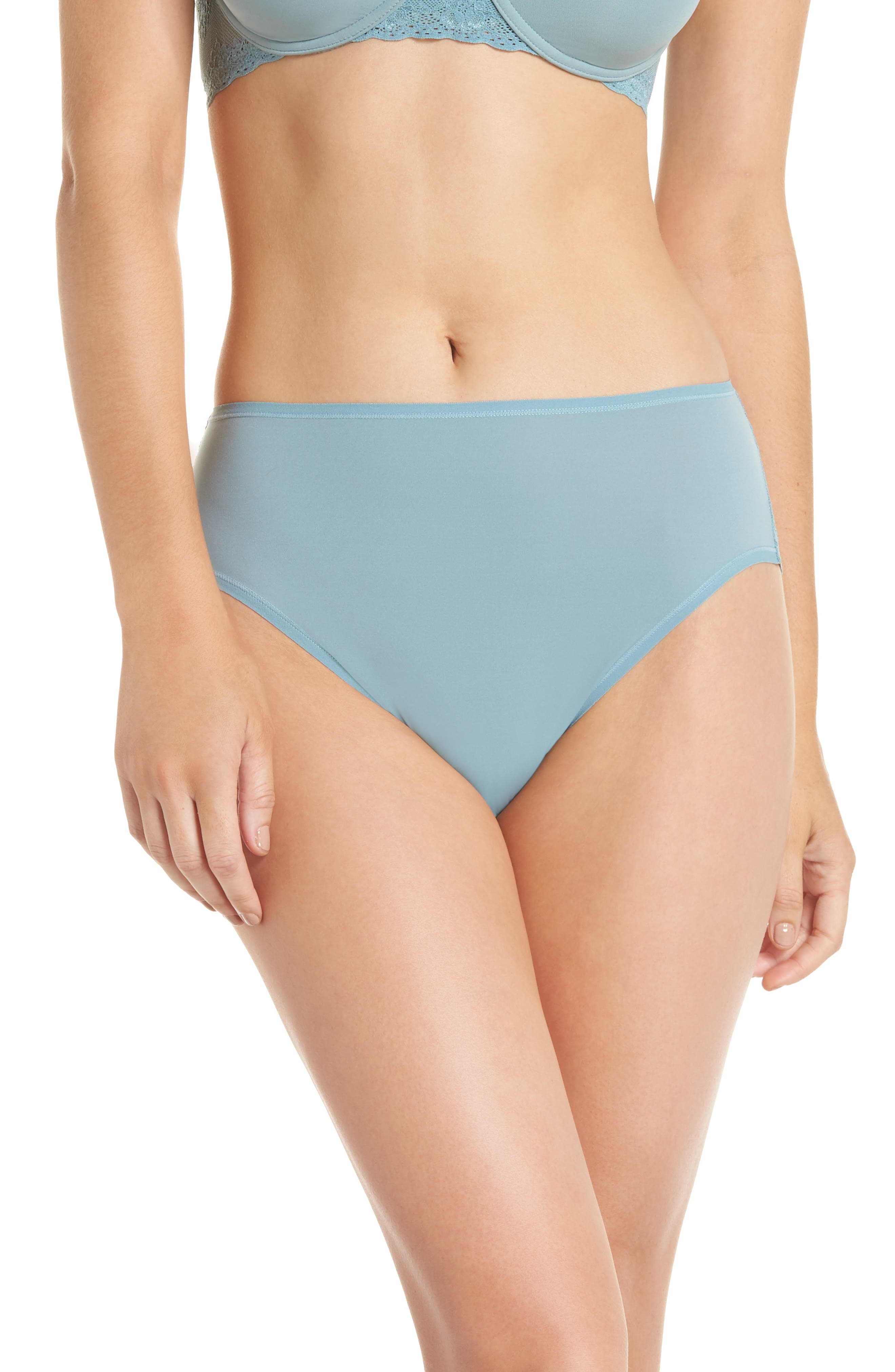 Bliss Perfection French Cut Briefs,                             Main thumbnail 1, color,                             SMOKE BLUE