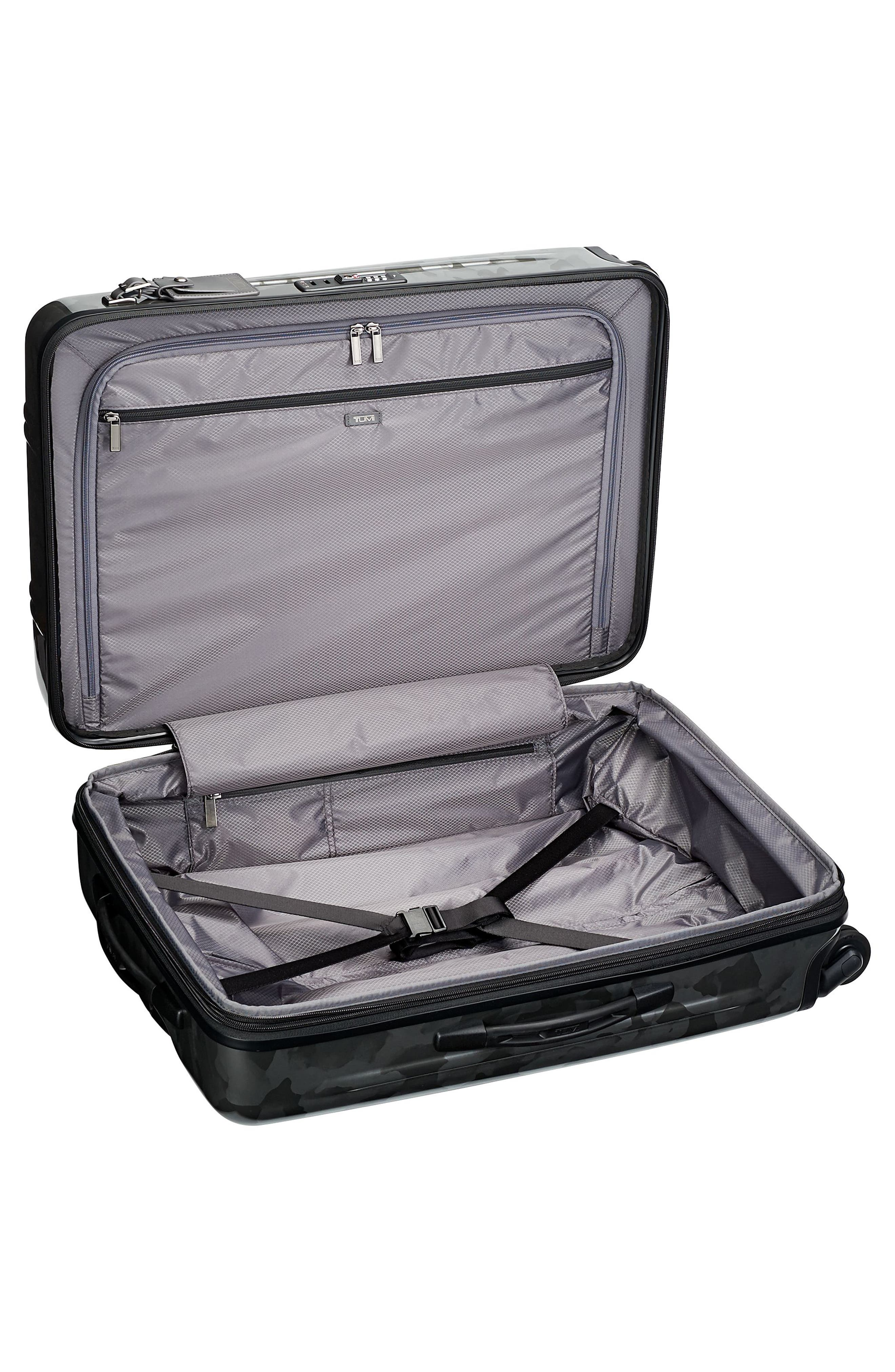 V3 Short Trip 26-Inch Expandable Wheeled Packing Case,                             Alternate thumbnail 3, color,                             GALVANIZED SILVER