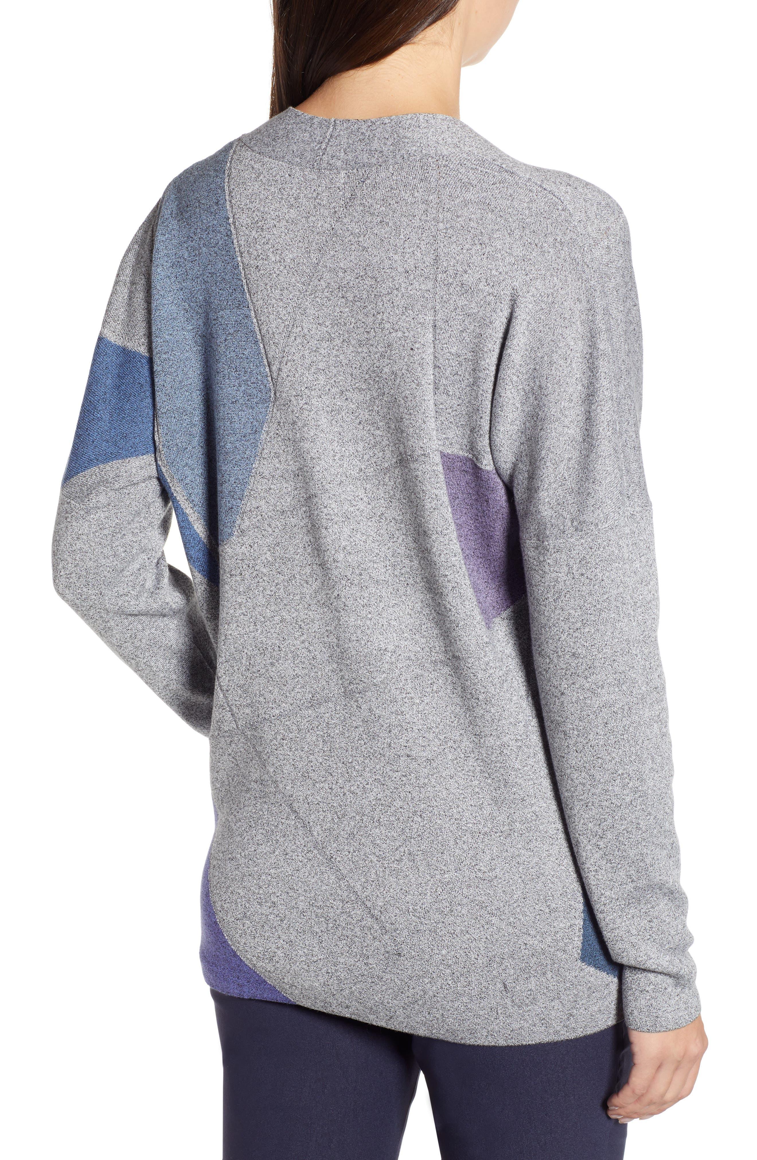 Colorblock Sweater,                             Alternate thumbnail 2, color,                             MULTI
