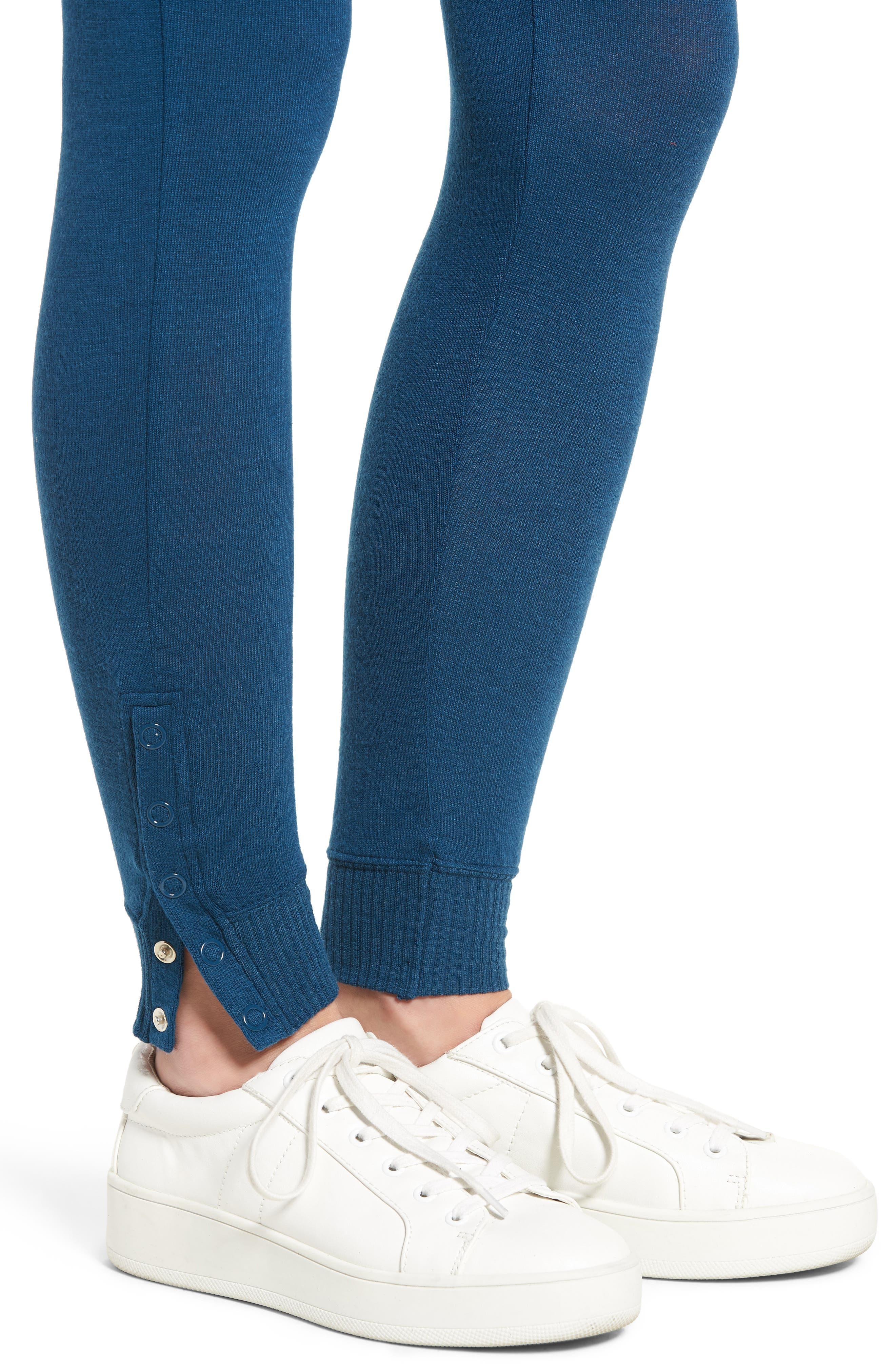 'Laid Back' Ankle Snap Leggings,                             Alternate thumbnail 15, color,