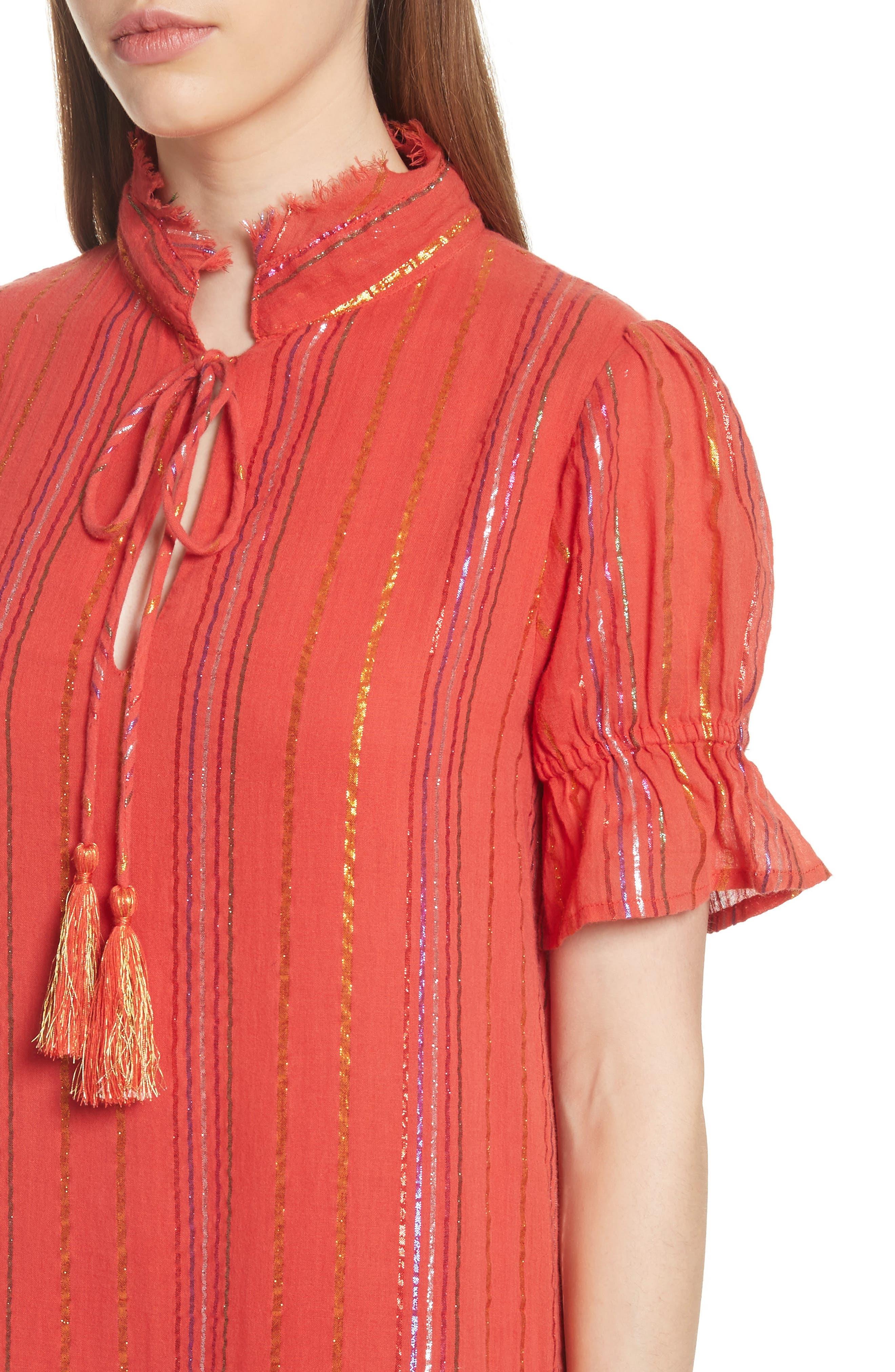 Los Altos Midi Dress,                             Alternate thumbnail 4, color,