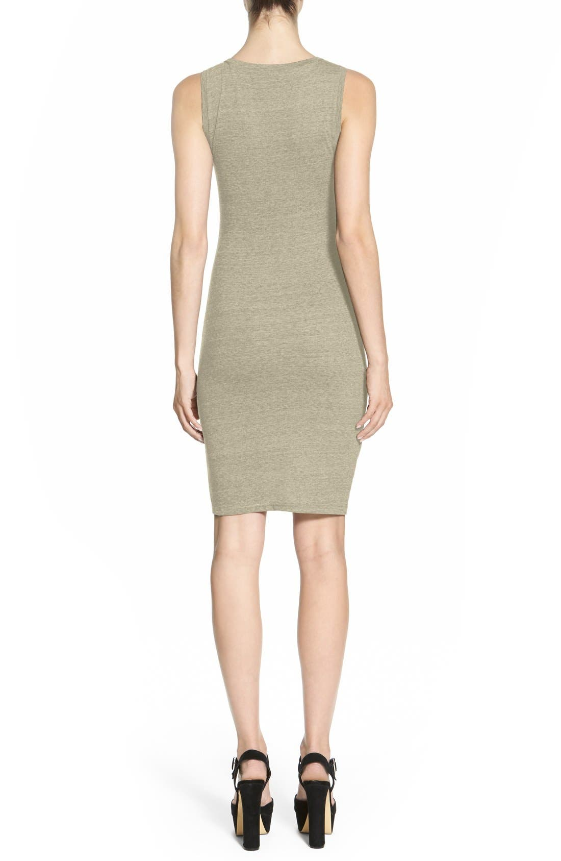 Ruched Body-Con Tank Dress,                             Alternate thumbnail 63, color,