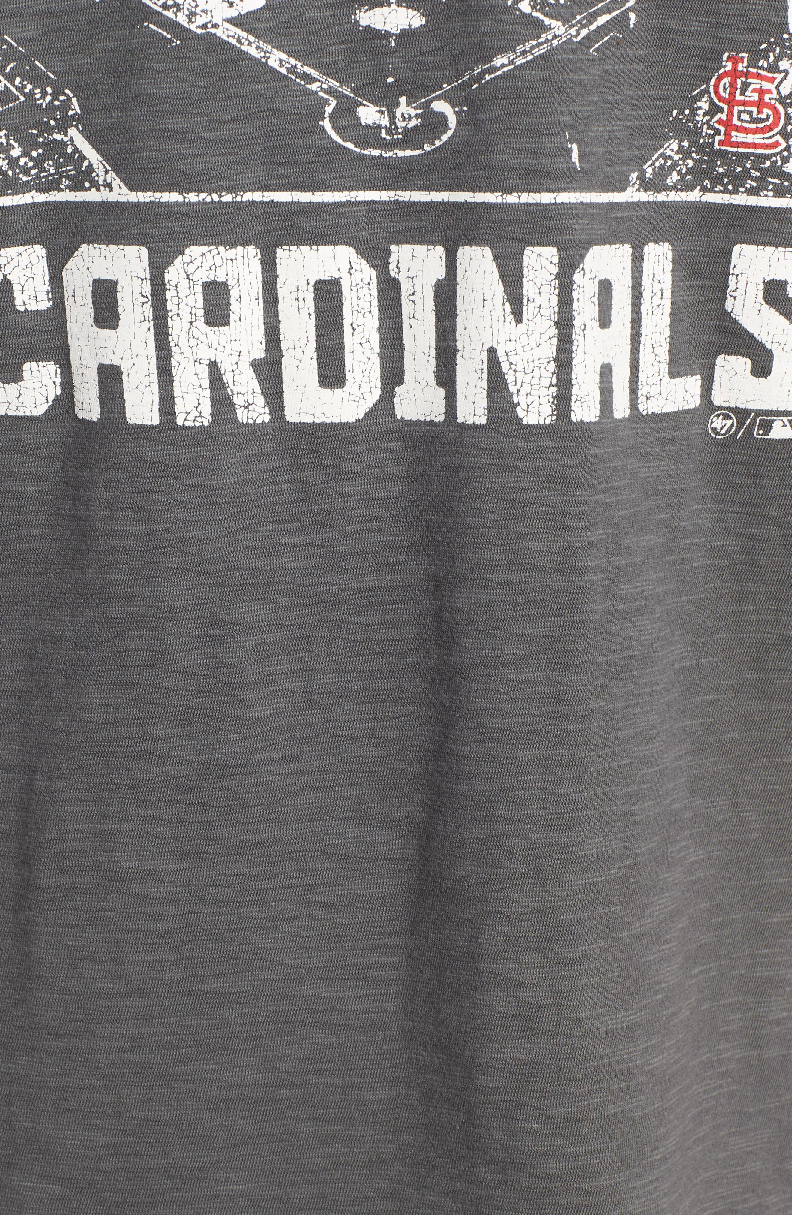 MLB Overdrive Scrum St. Louis Cardinals T-Shirt,                             Alternate thumbnail 5, color,                             SUBMARINE
