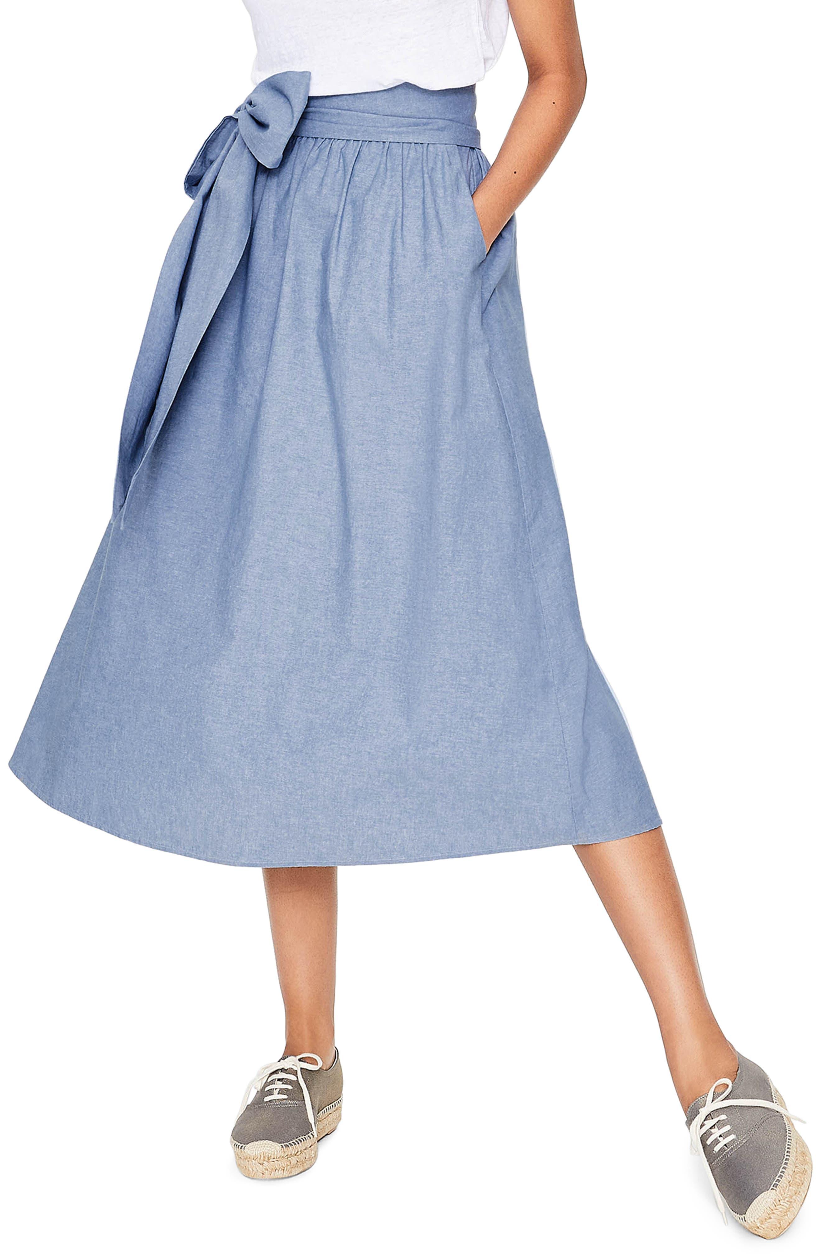 Kiera Midi Skirt,                         Main,                         color, 469