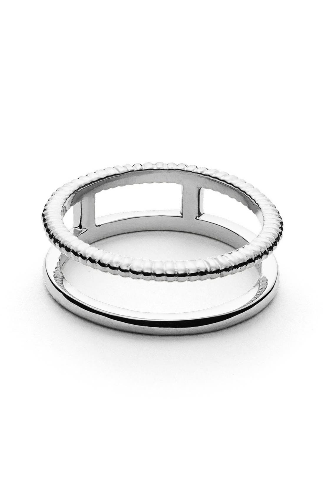 Coin Edge Ring,                             Main thumbnail 1, color,                             040