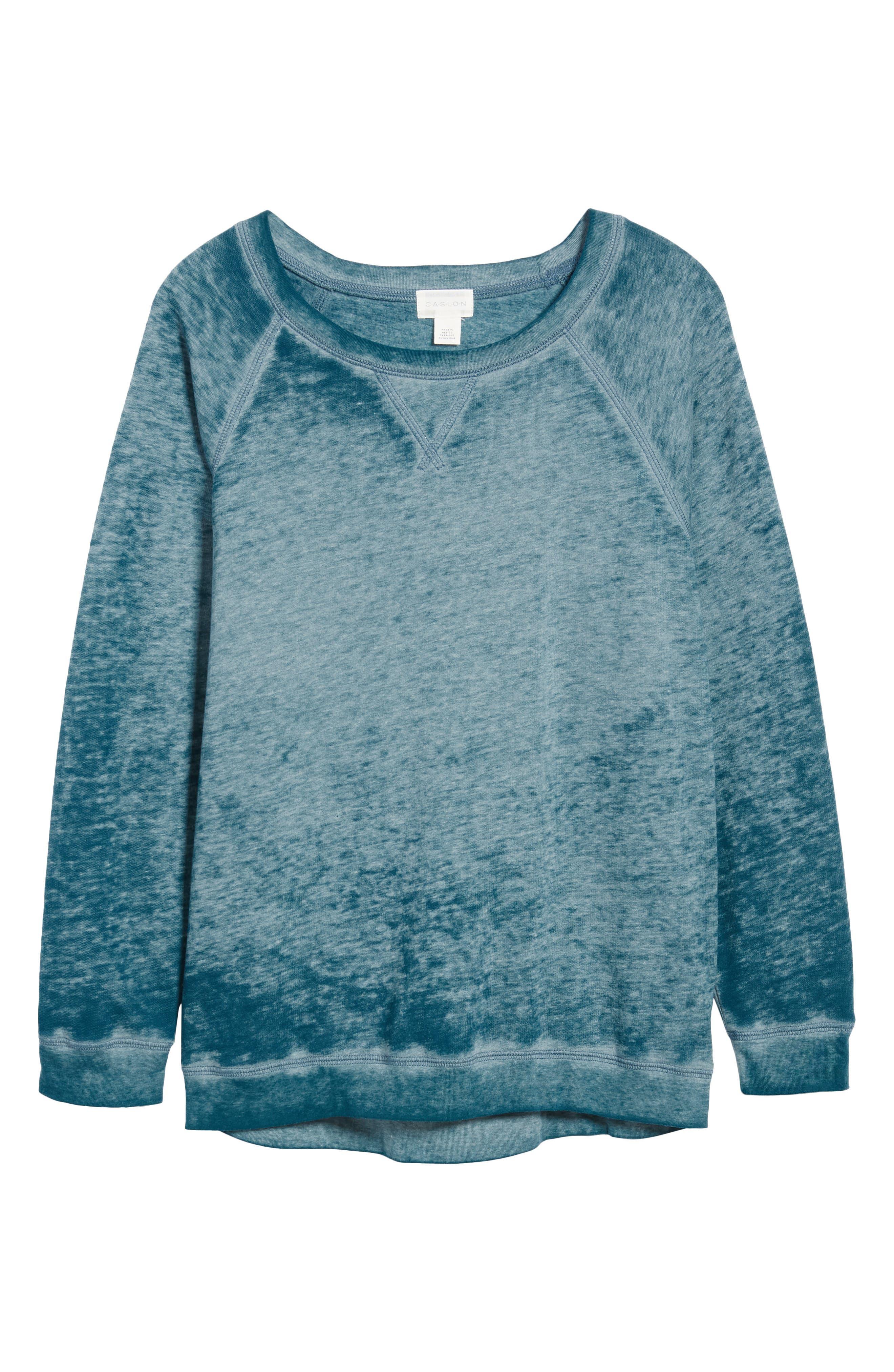 Burnout Sweatshirt,                             Alternate thumbnail 6, color,                             421