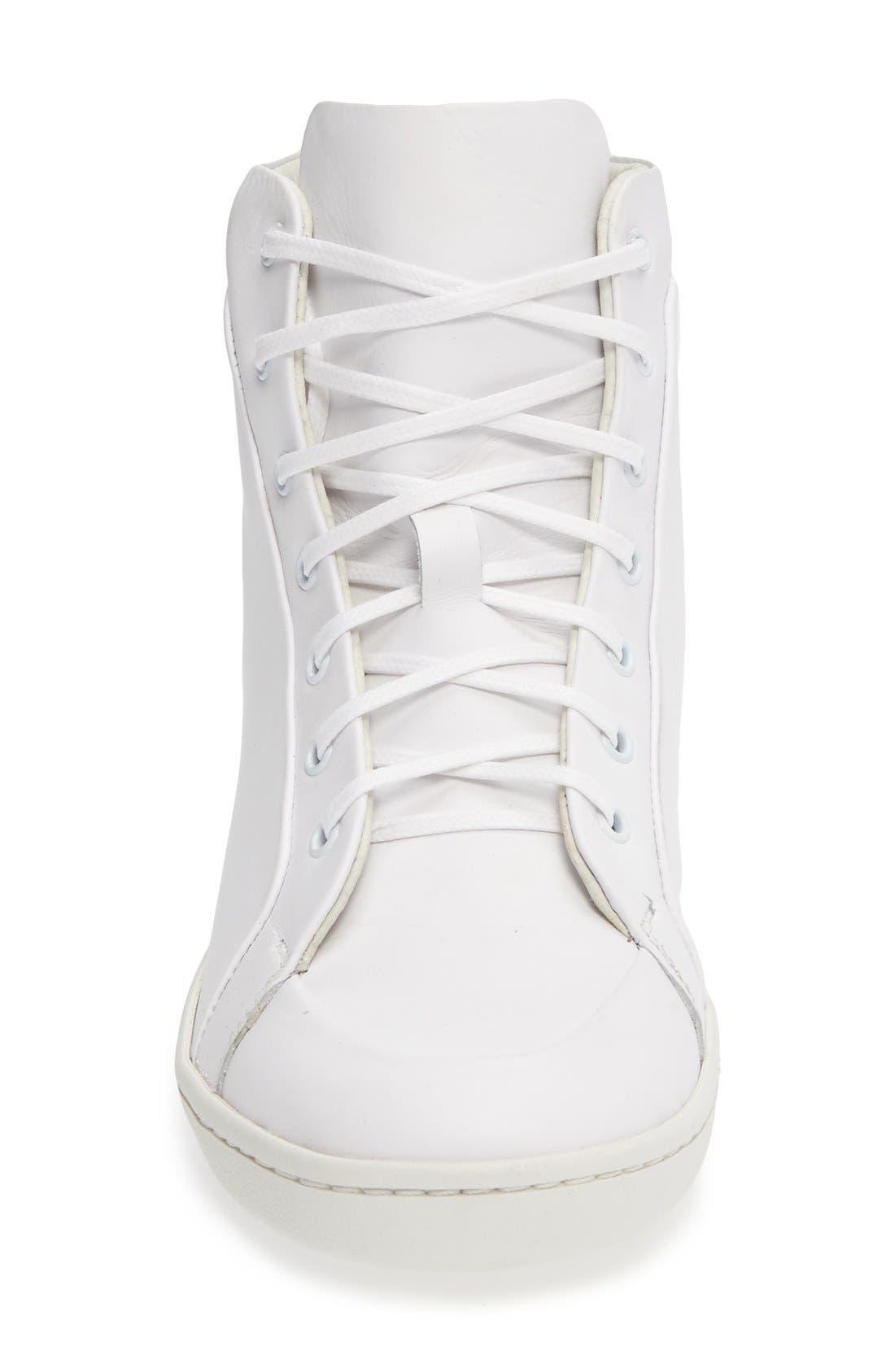 Molly High Top Sneaker,                             Alternate thumbnail 6, color,