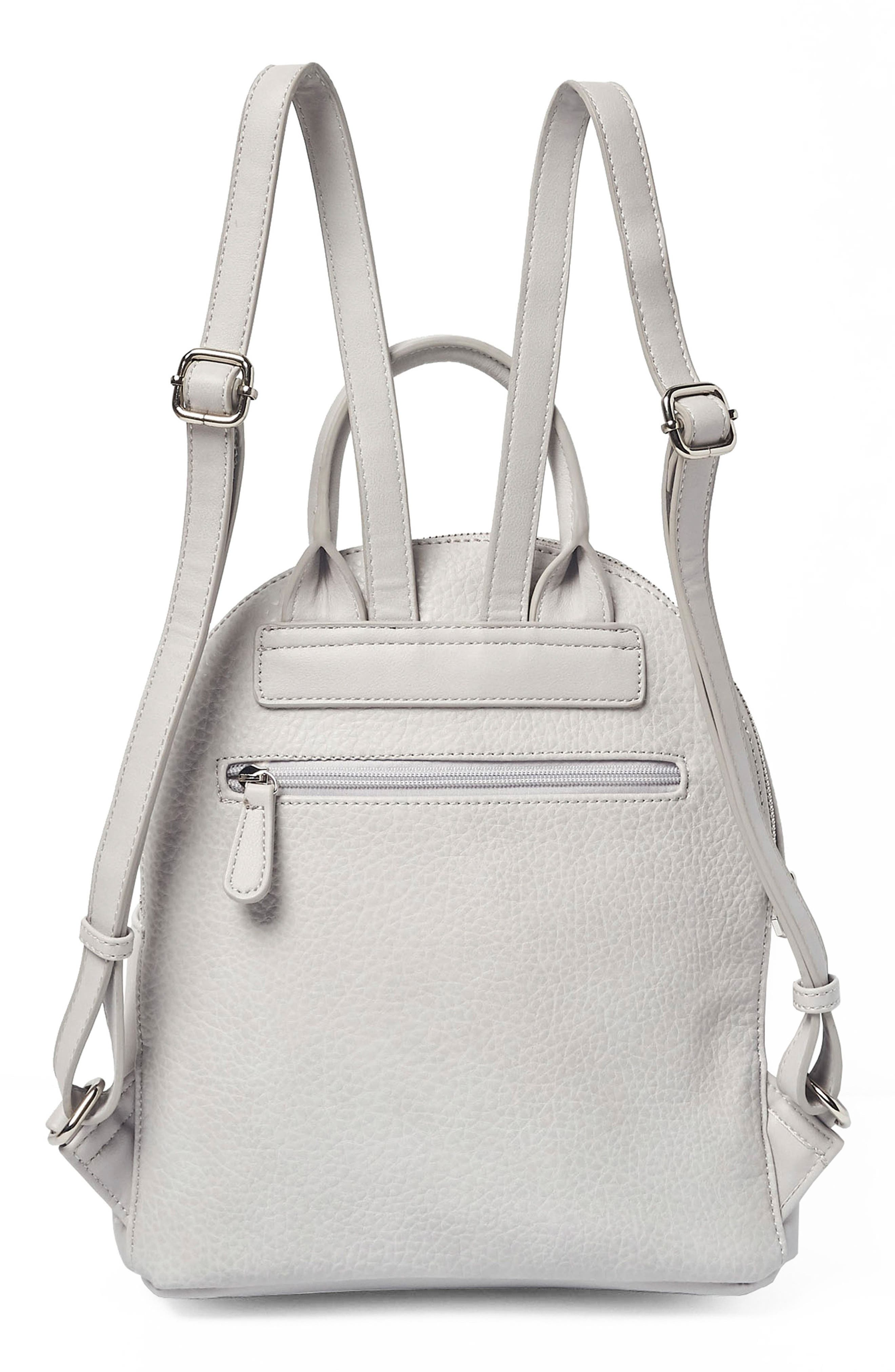 Into the Night Vegan Leather Backpack,                             Alternate thumbnail 5, color,