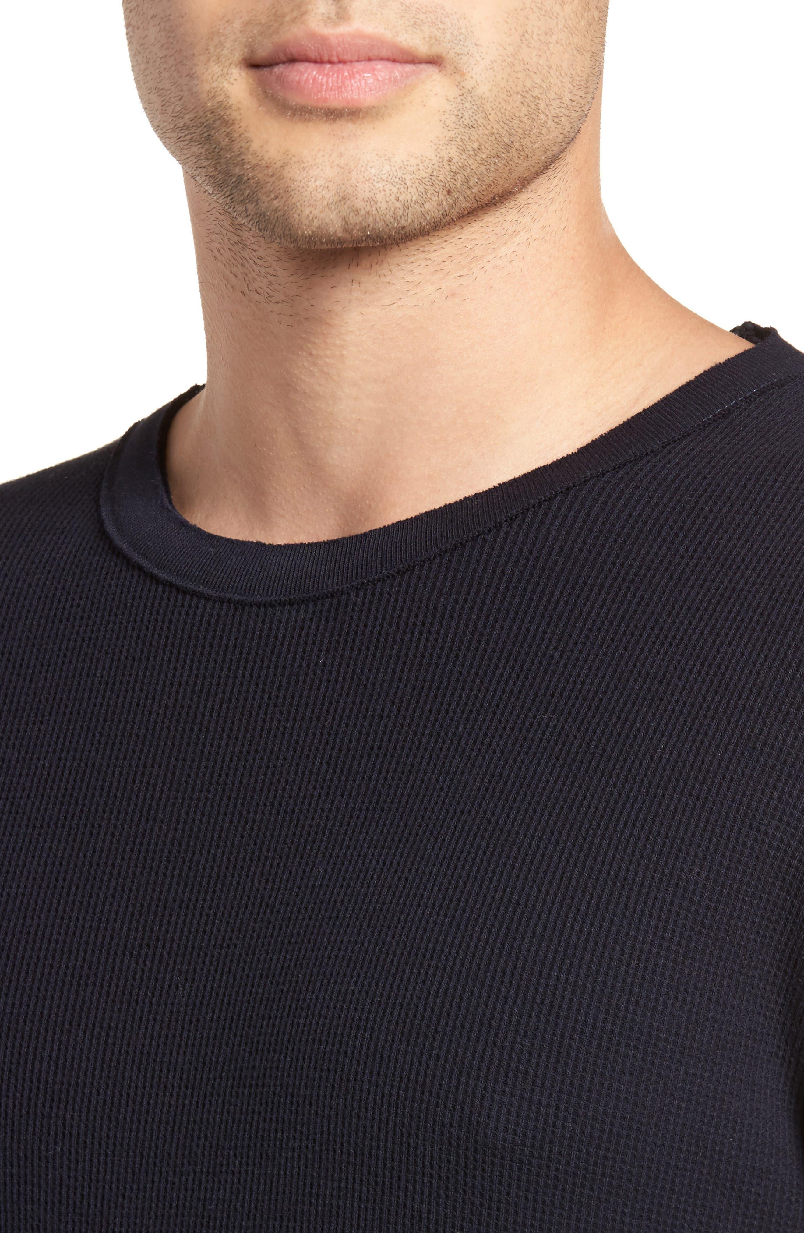Thermal Knit Long Sleeve T-Shirt,                             Alternate thumbnail 12, color,