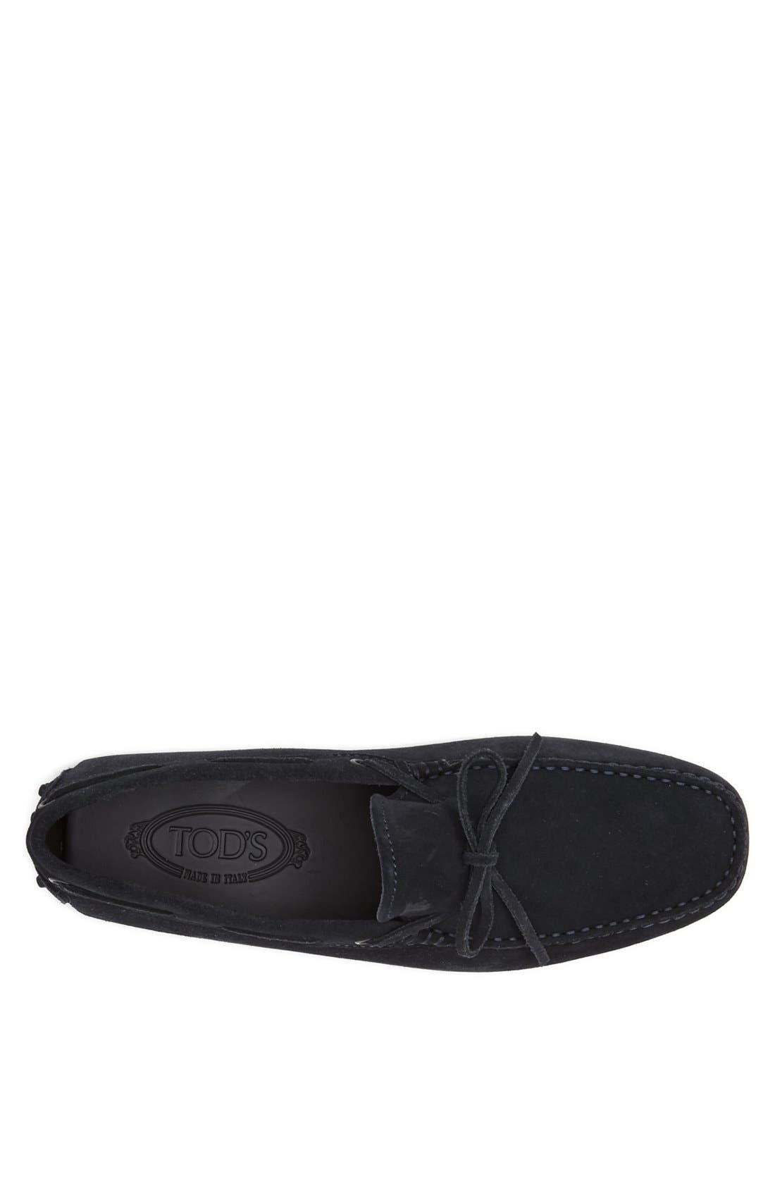 Gommini Tie Front Driving Moccasin,                             Alternate thumbnail 56, color,