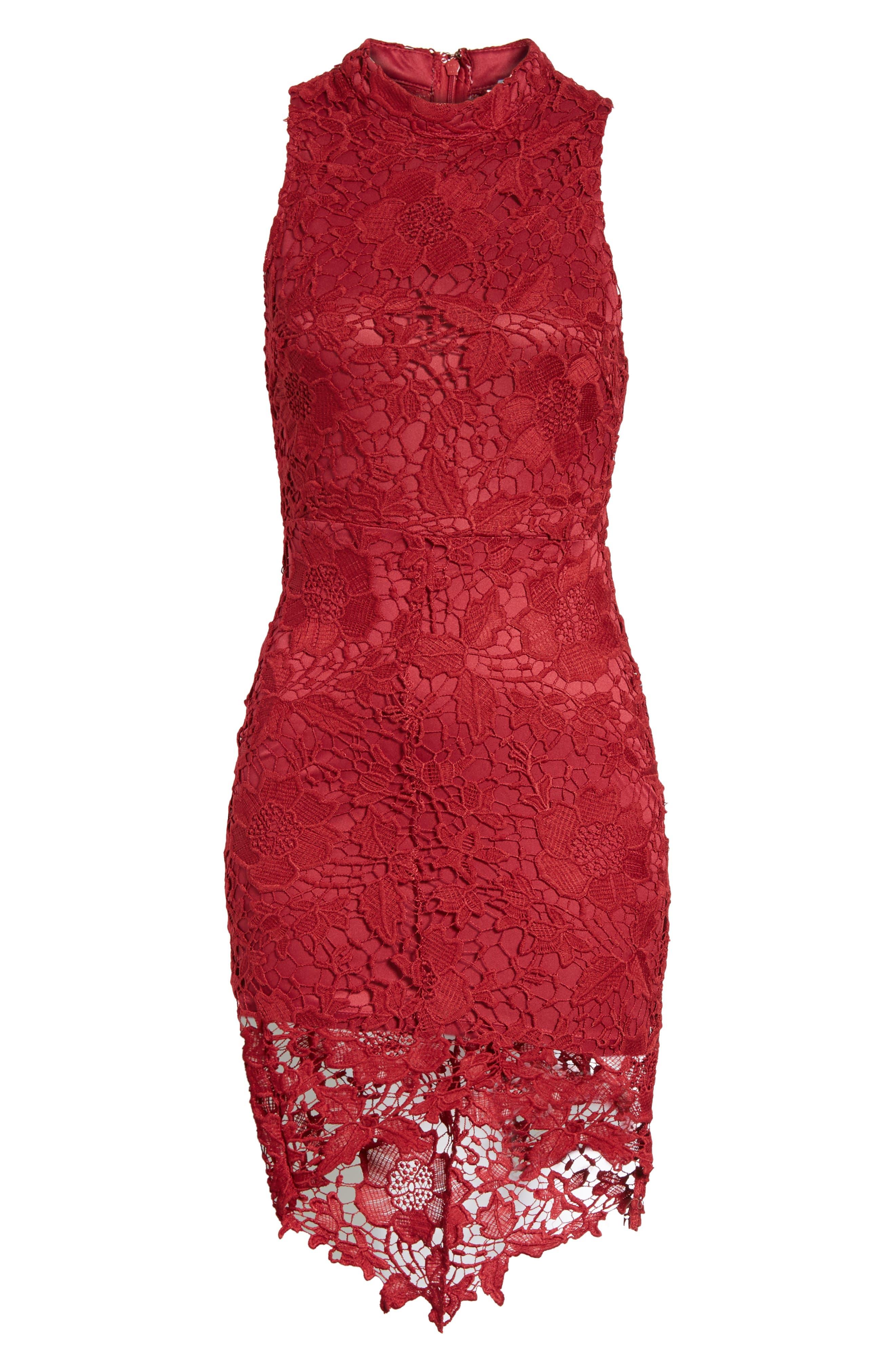 'Samantha' Lace Dress,                             Alternate thumbnail 37, color,