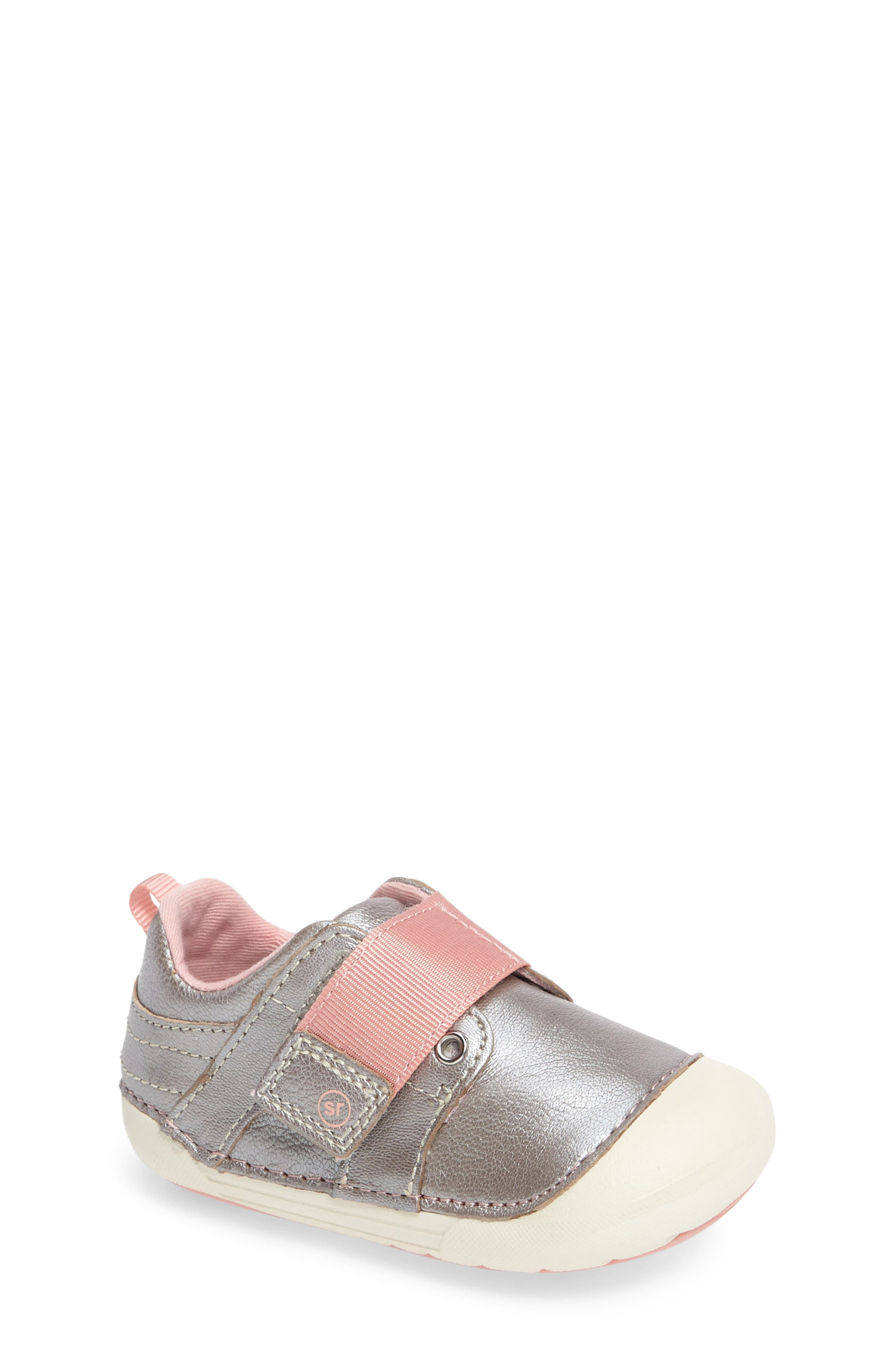 Soft Motion<sup>™</sup> Cameron Sneaker,                         Main,                         color, SILVER