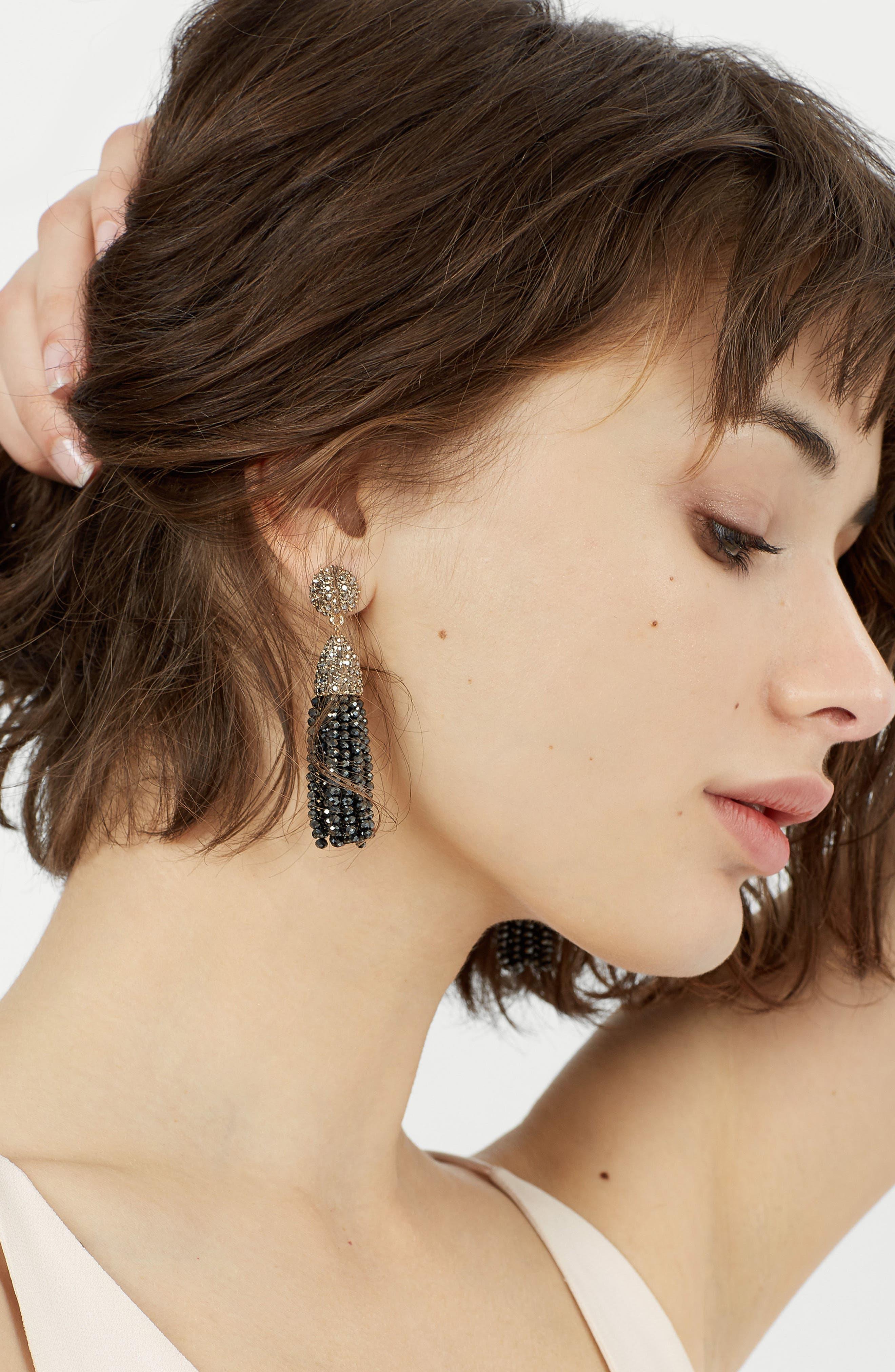 BAUBLEBAR,                             Mini Metallic Pinata Statement Earrings,                             Alternate thumbnail 3, color,                             040