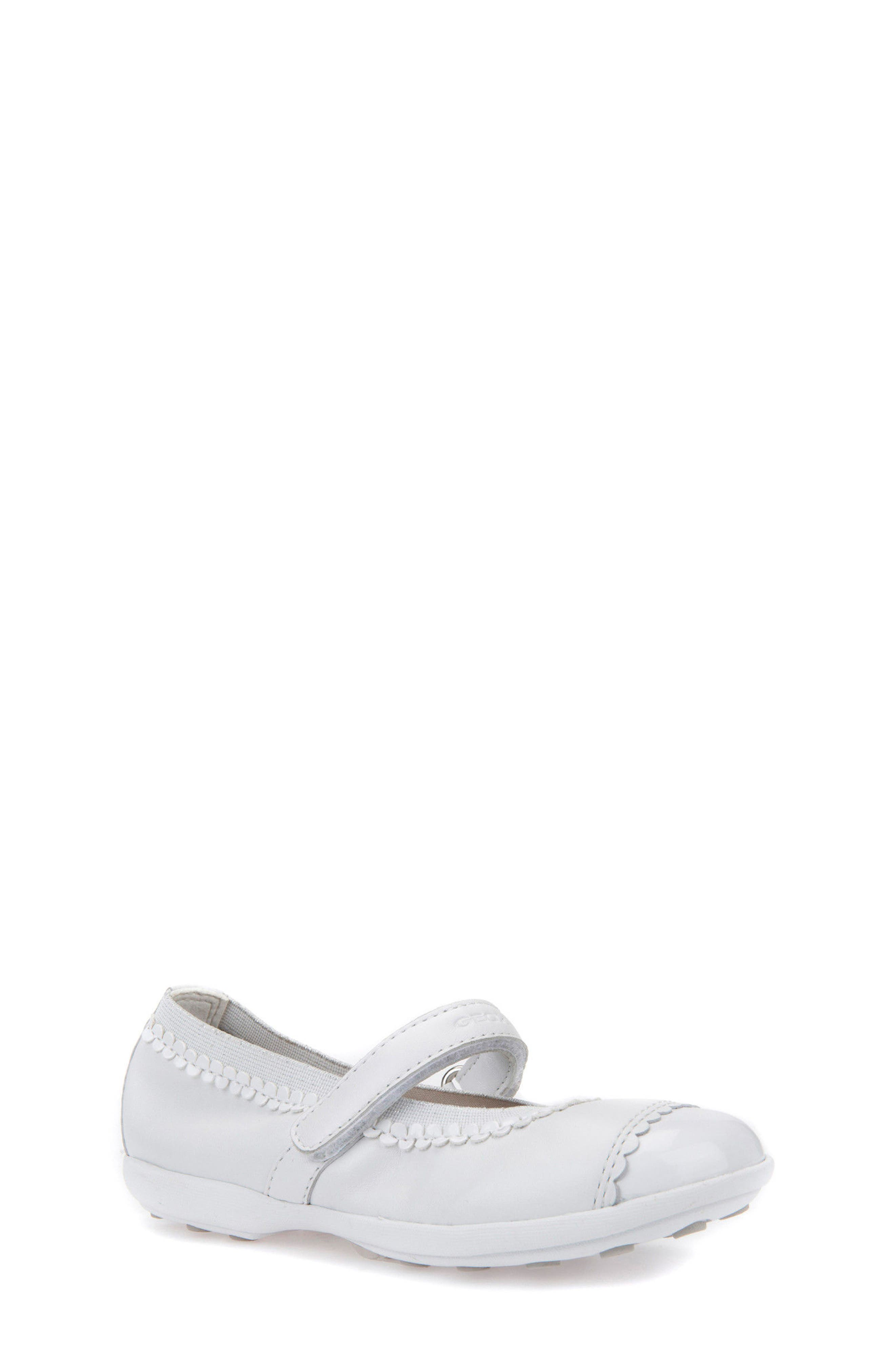 Jodie Cap Toe Mary Jane,                             Main thumbnail 1, color,                             WHITE