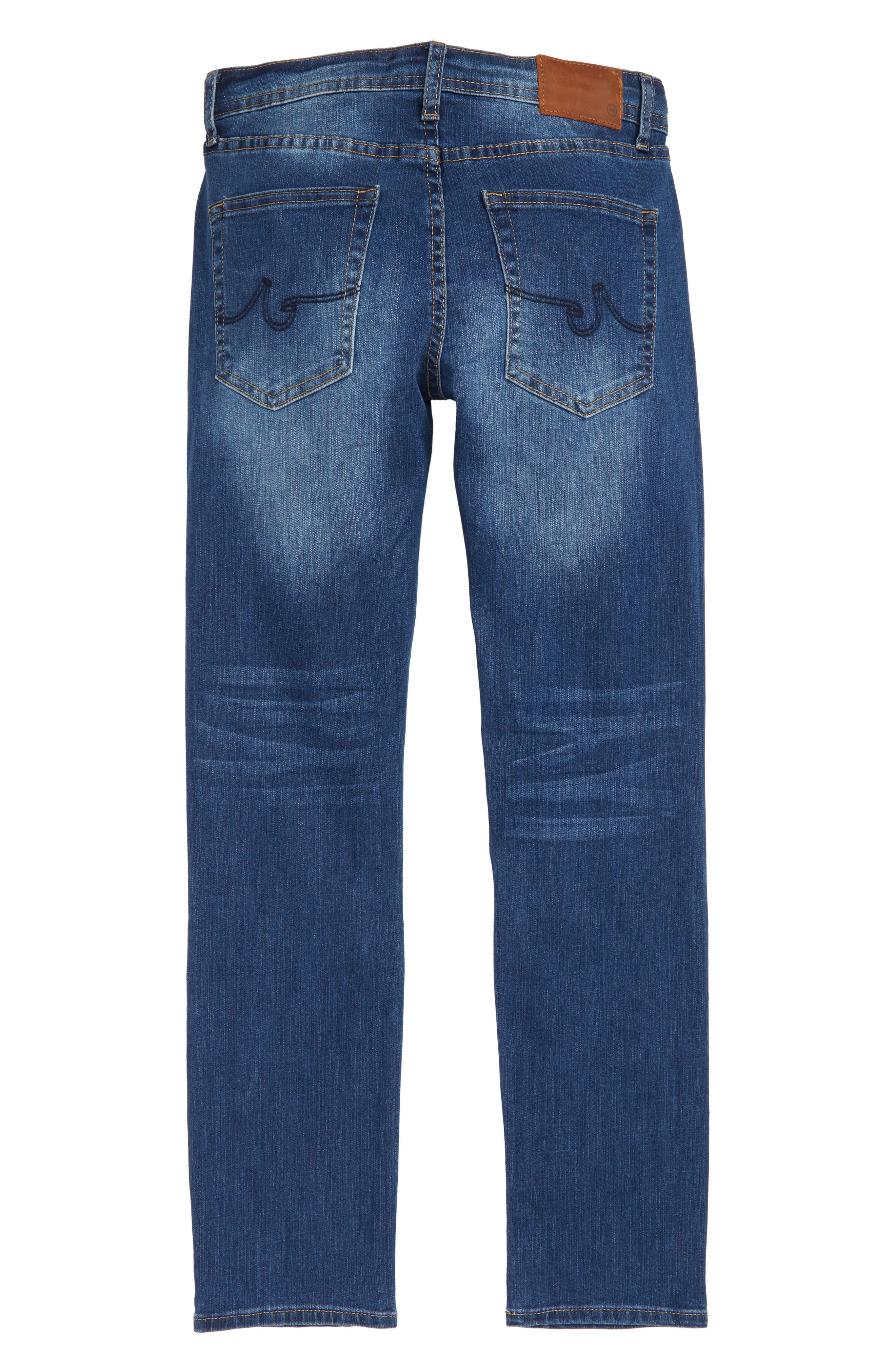 The Stryker Slim Straight Leg Jeans,                             Alternate thumbnail 2, color,                             16 YRS RAVE