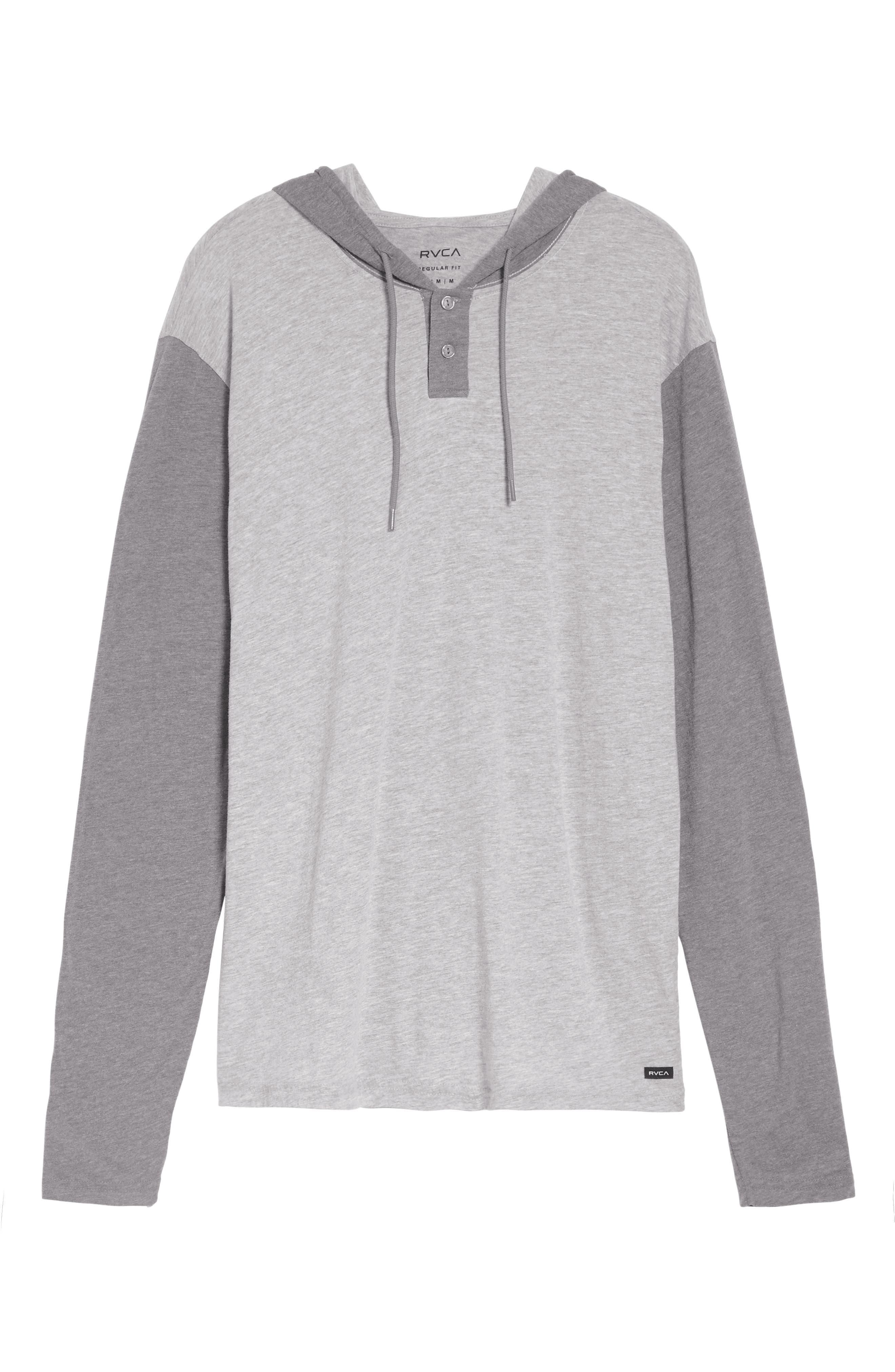 Pick Up Hooded Henley Sweatshirt,                             Alternate thumbnail 6, color,                             021