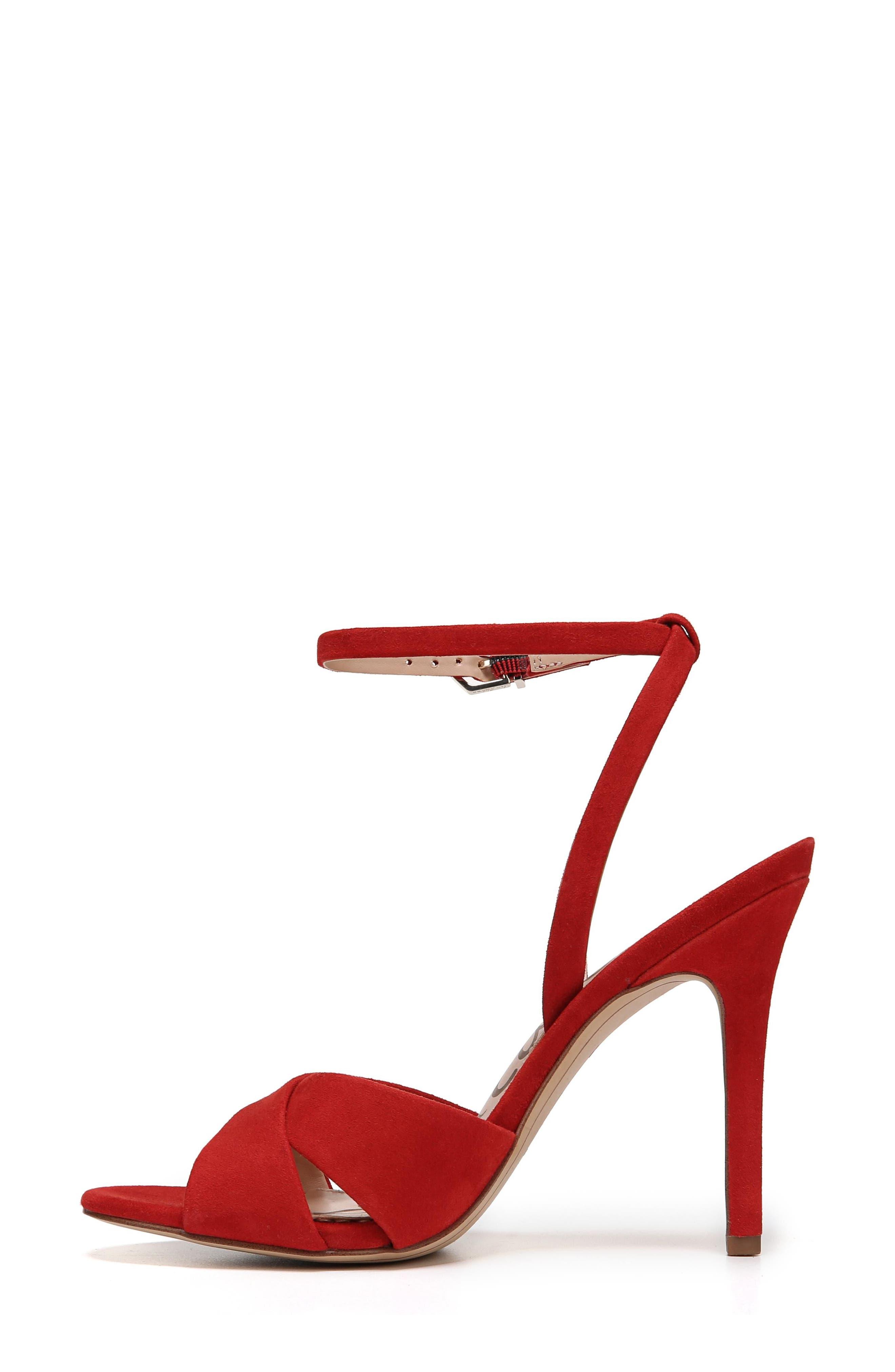 Aly Ankle Strap Sandal,                             Alternate thumbnail 17, color,