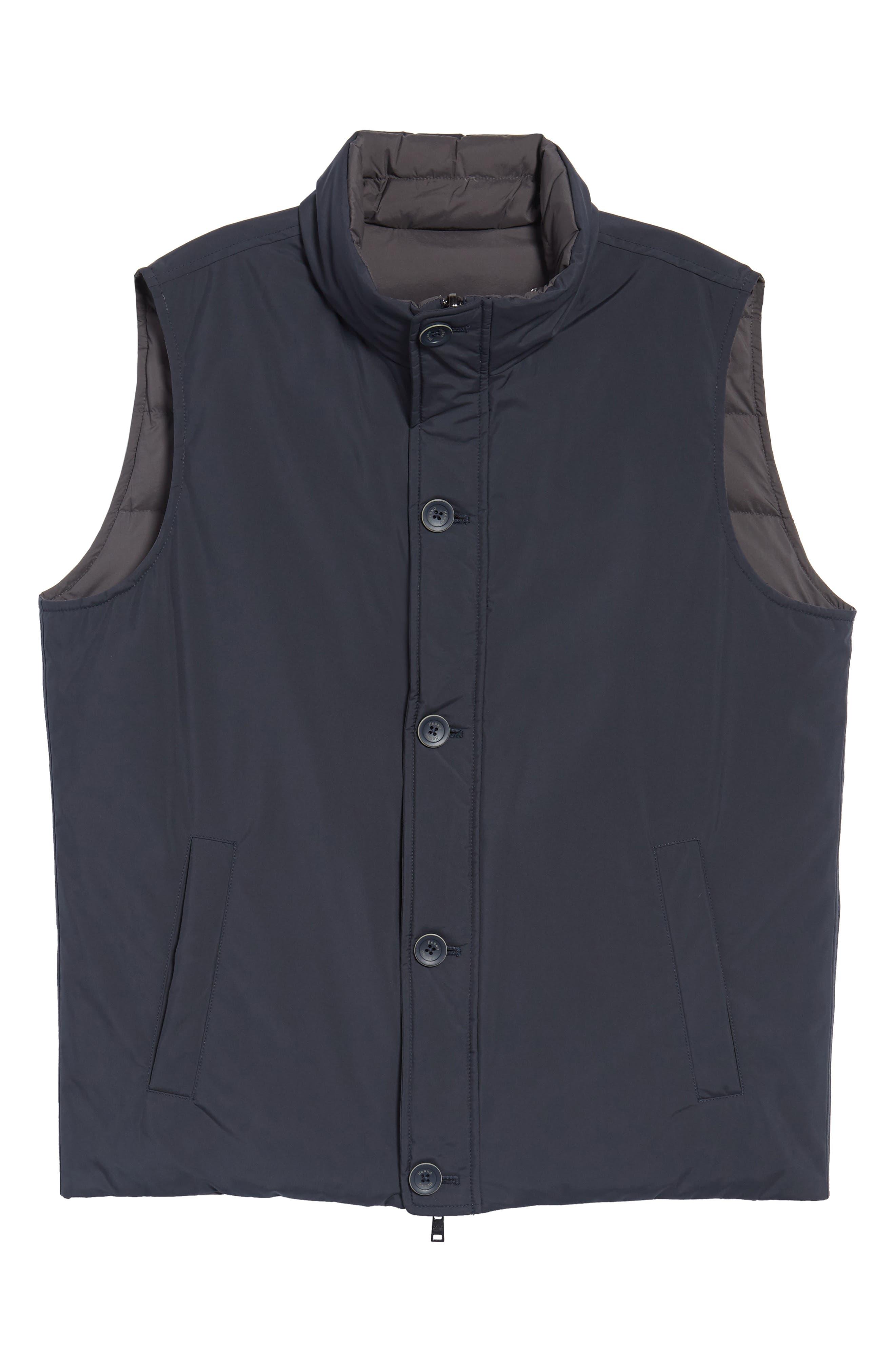 Reversible Down Vest,                             Alternate thumbnail 5, color,                             400