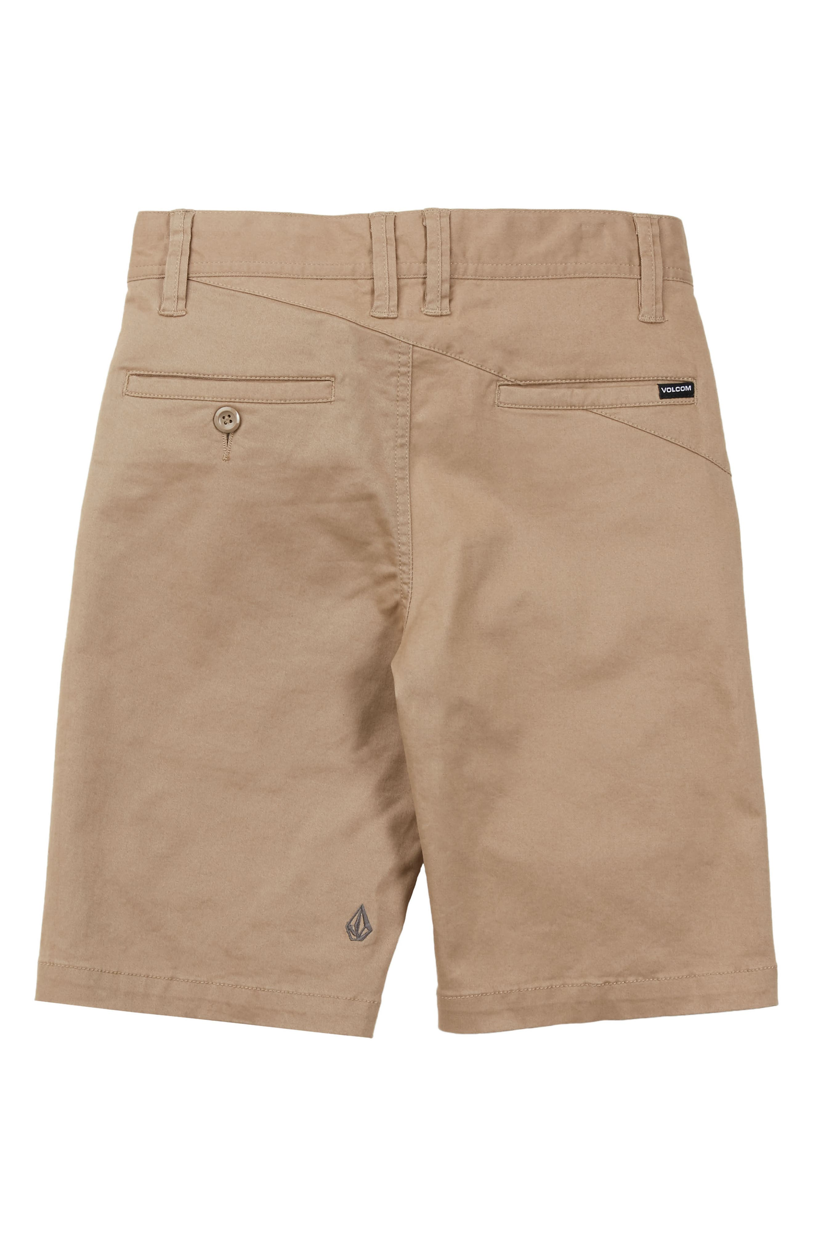 Cotton Twill Shorts,                             Alternate thumbnail 2, color,                             254
